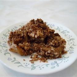 Nutty Apple Crisp