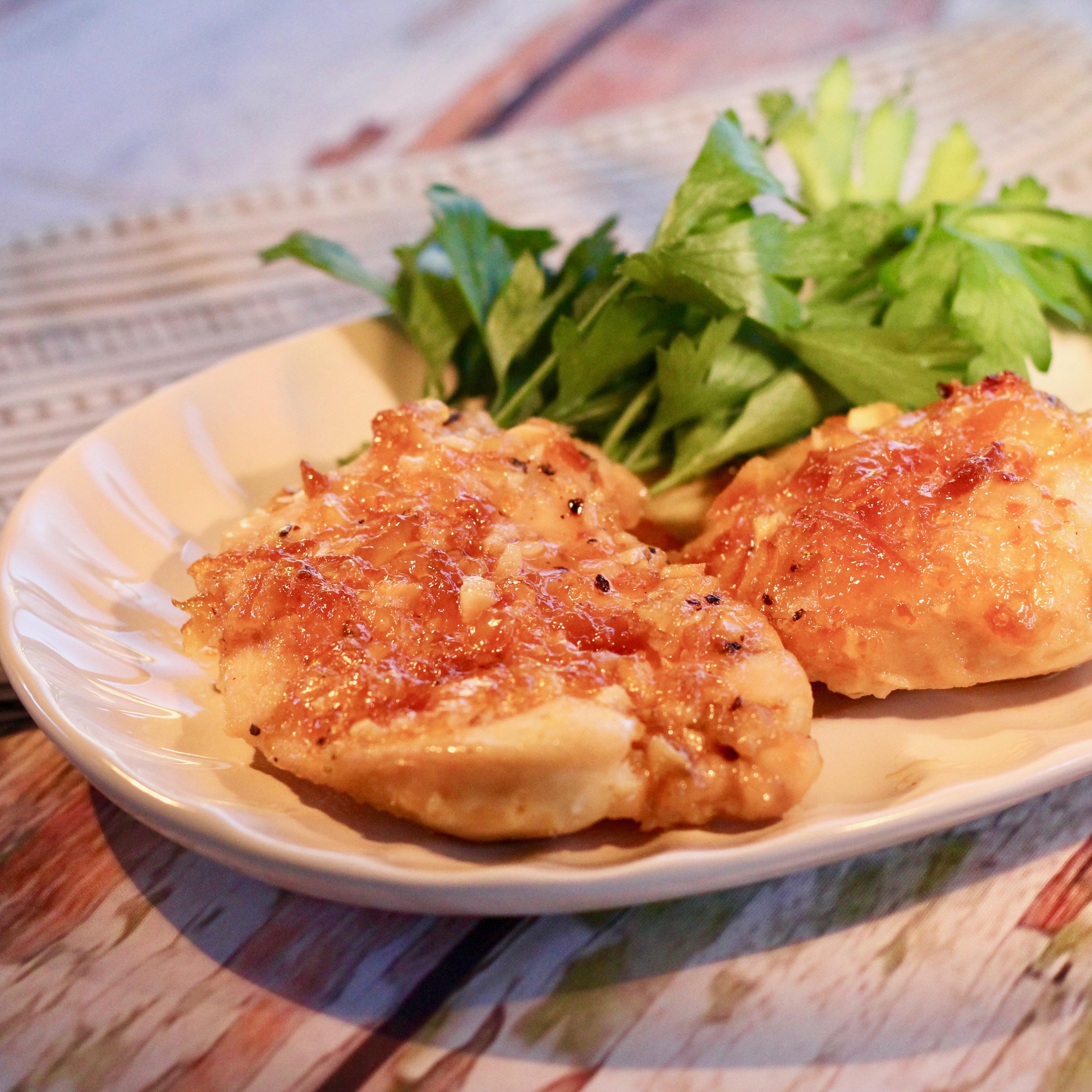 Peach-Glazed Chicken