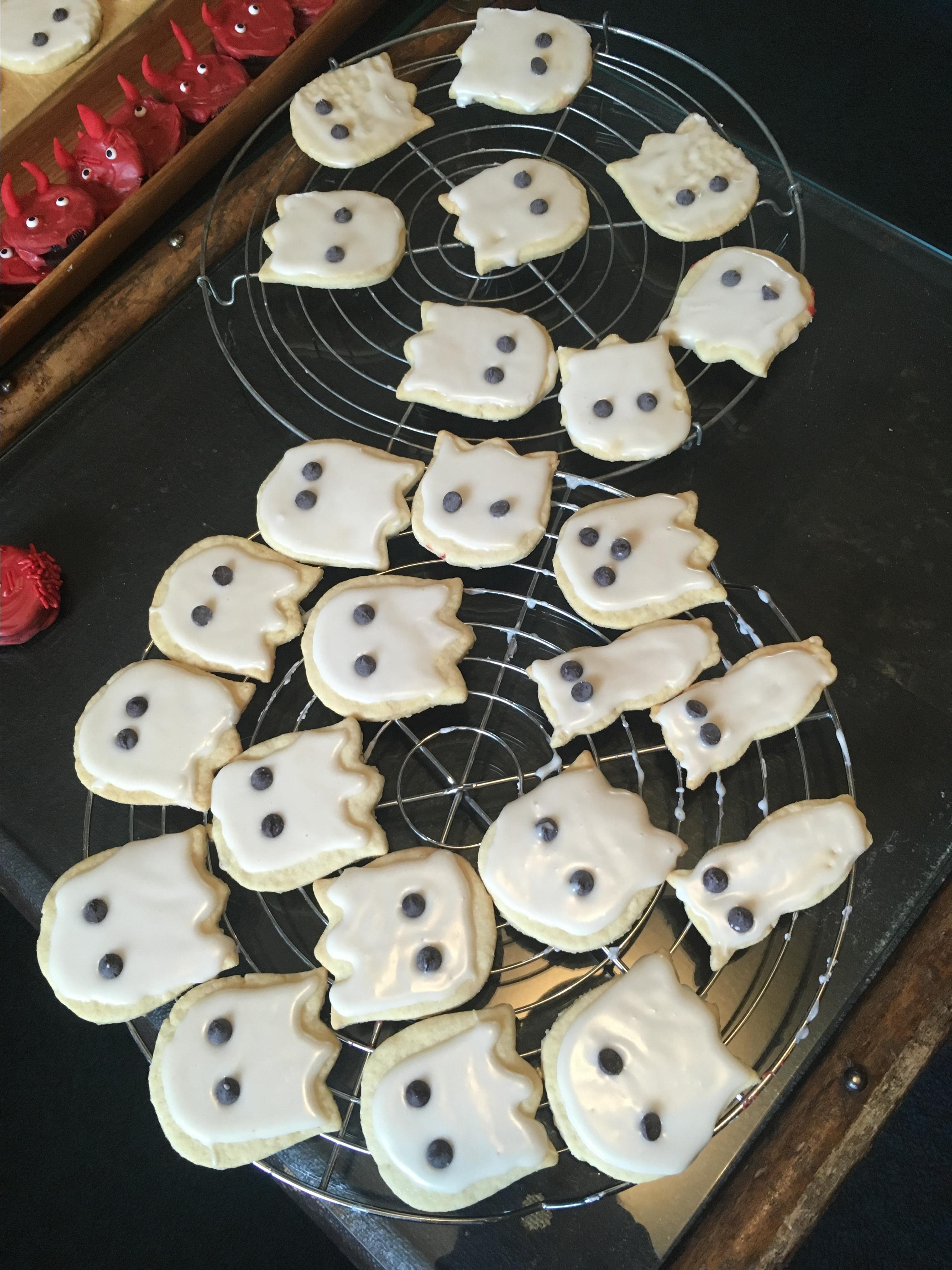 Halloween Ghost Cookies barbara