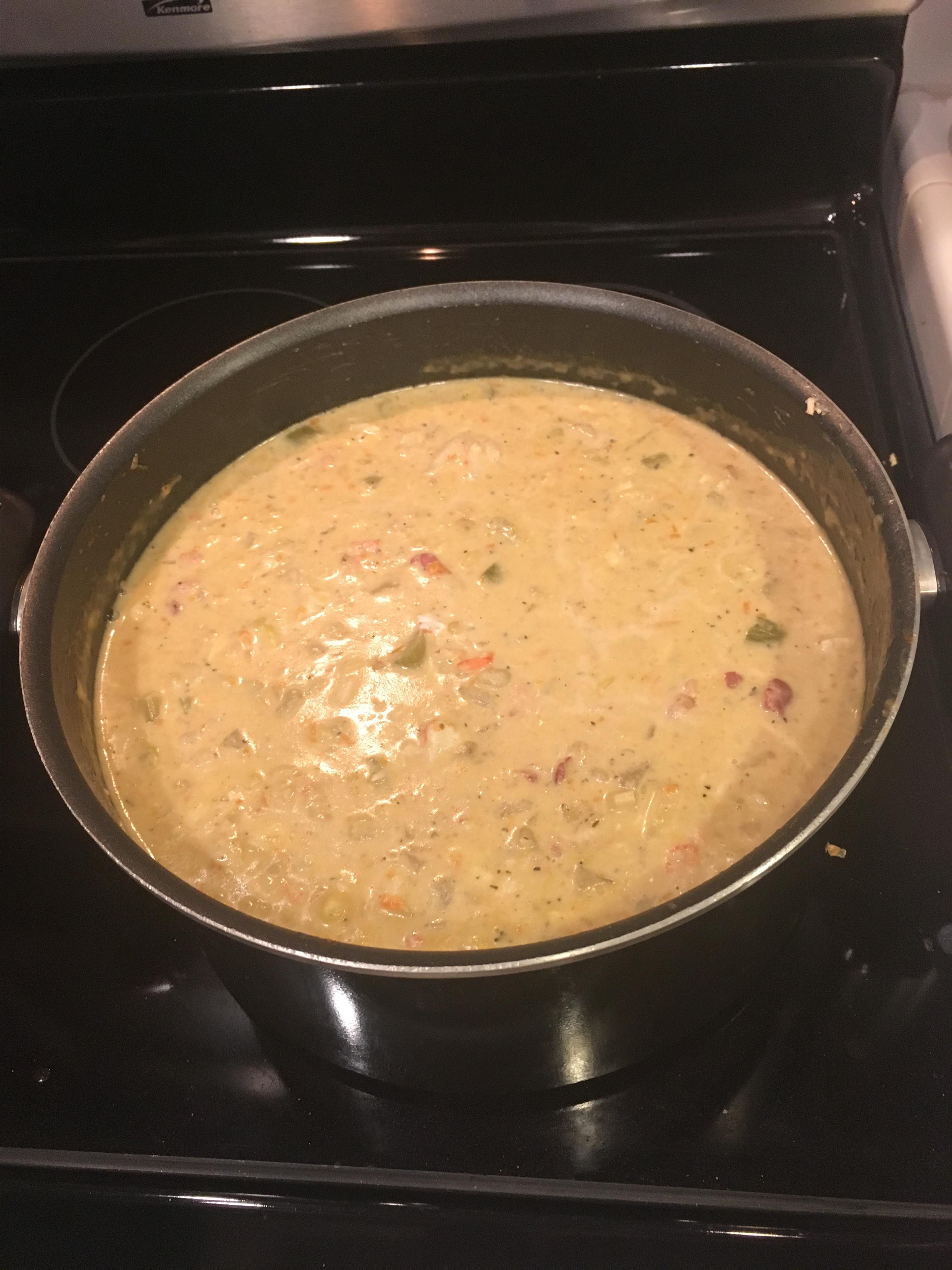 Sheryl's Corn and Crab Chowder