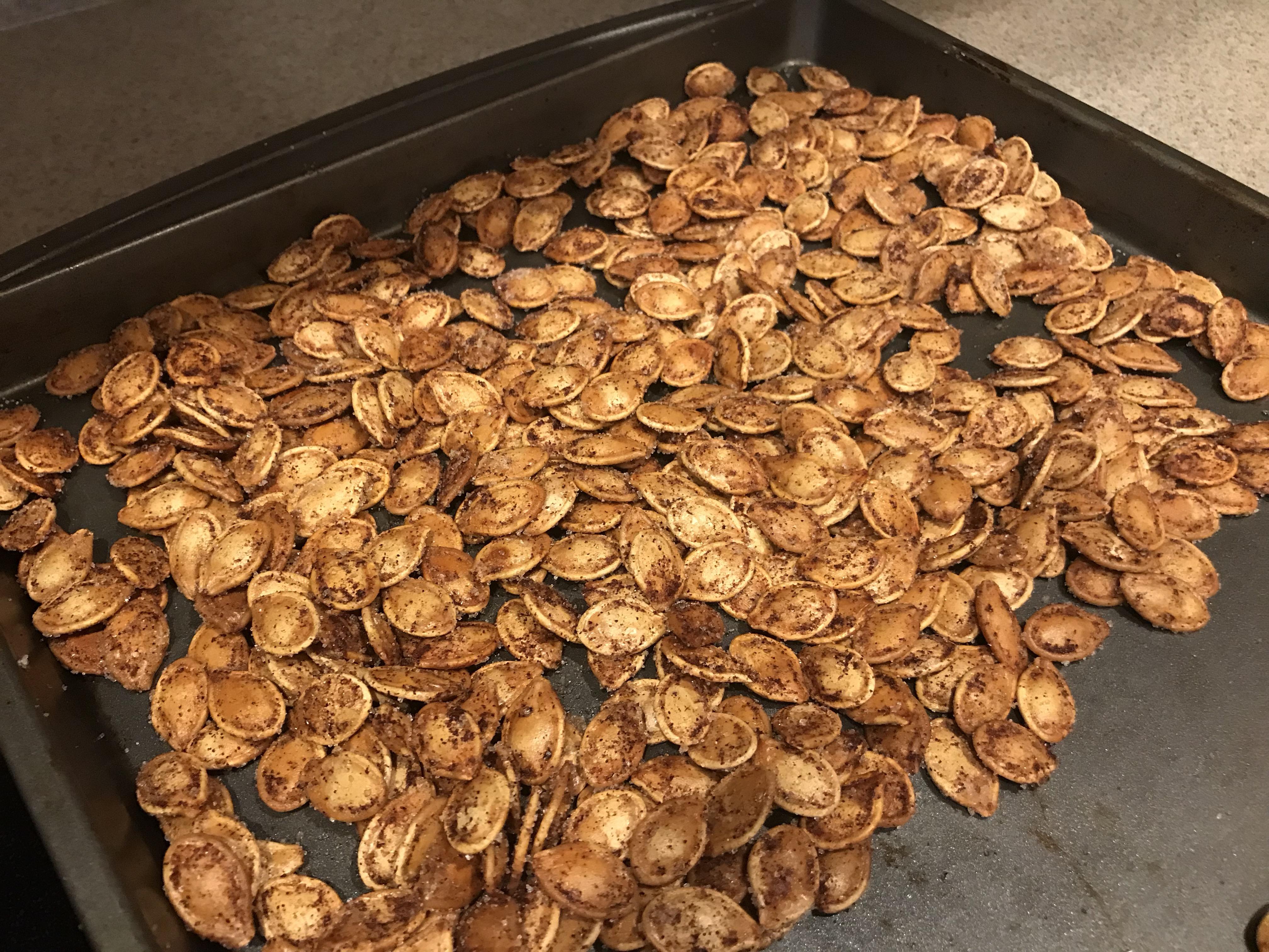 Cinnamon Toast Pumpkin Seeds Jolanda Graham