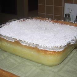 Lemon Custard Pudding Cake Tina G
