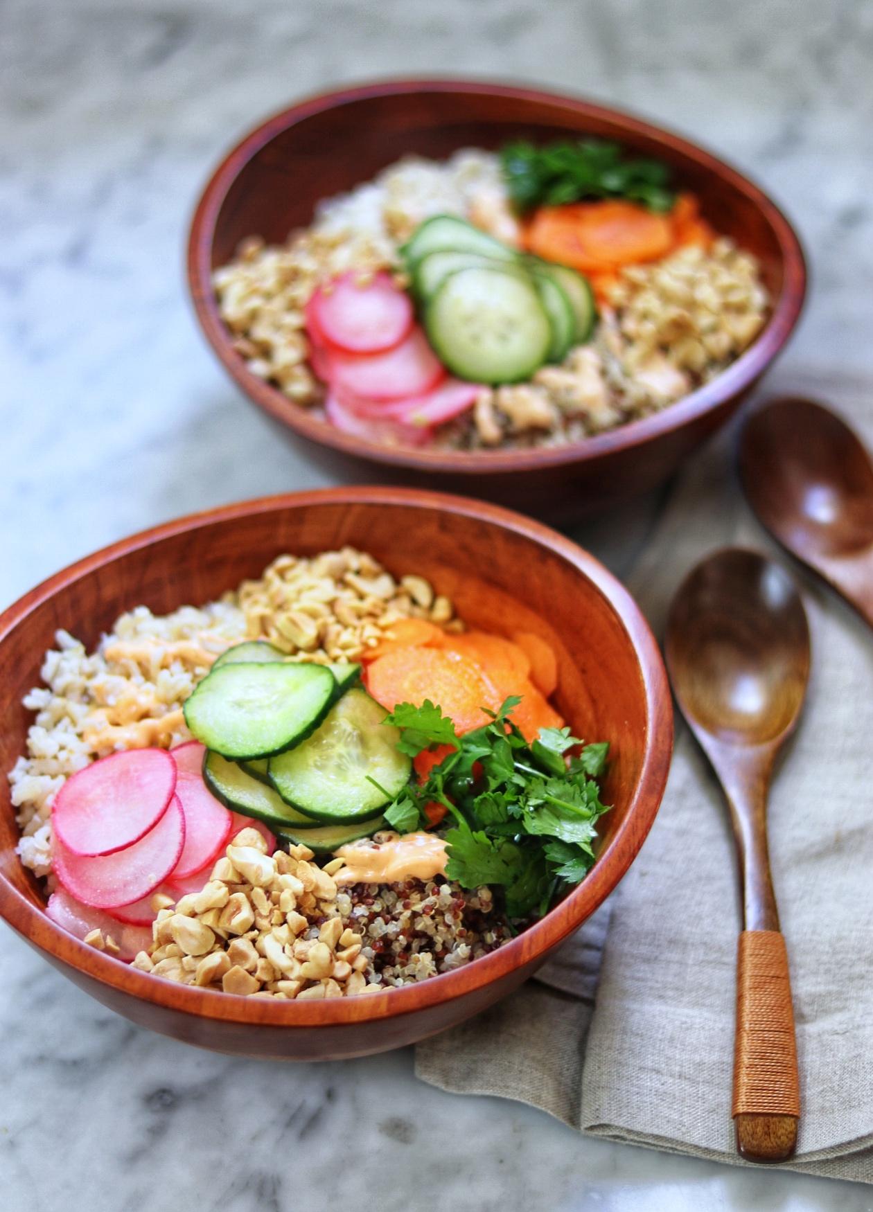 Vegetarian Banh Mi Bowls