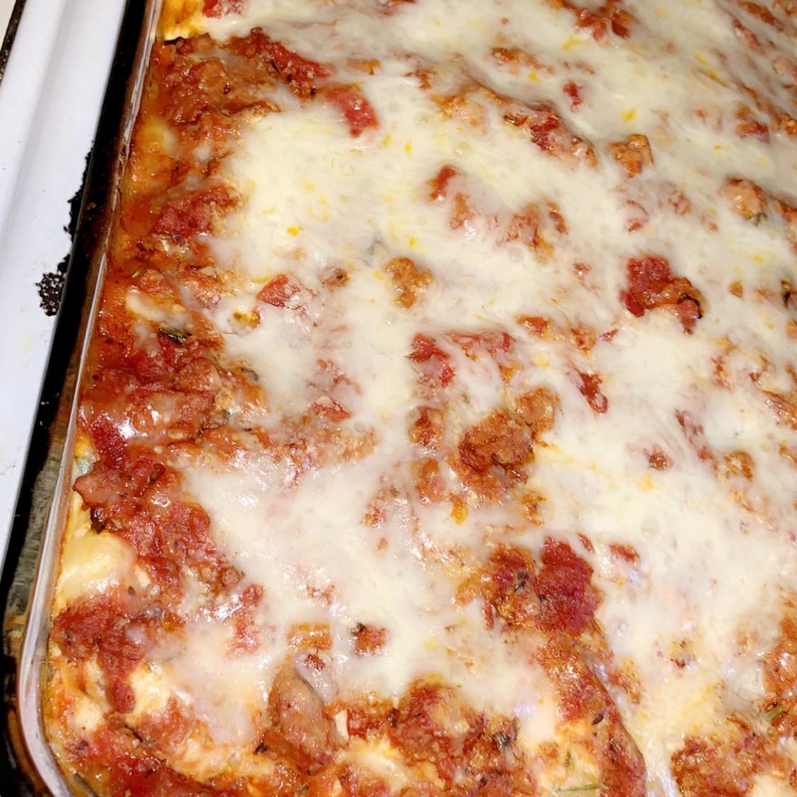 Kim's Lasagna Brittney Zavoda
