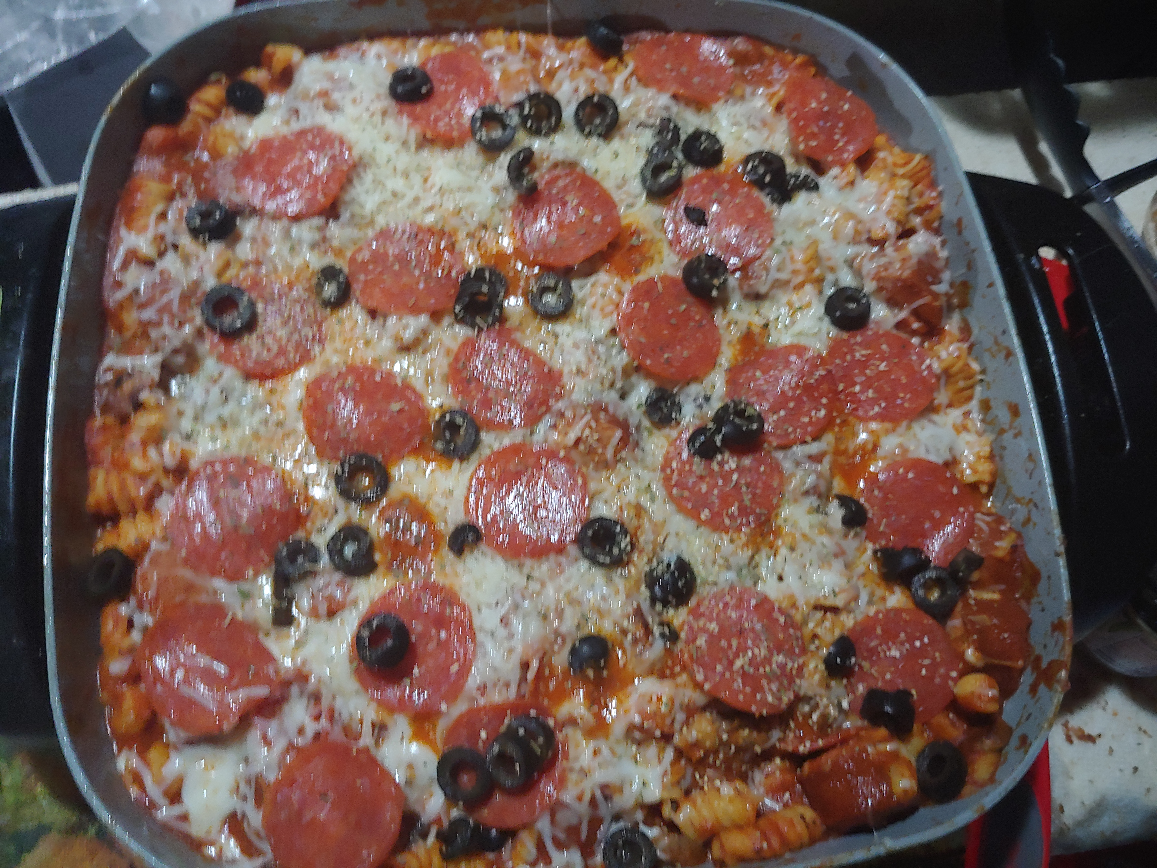 Smoked Sausage Pizza Pasta Skillet Tommy Letts