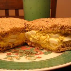Curried Egg Sandwiches MrsCdnFrog