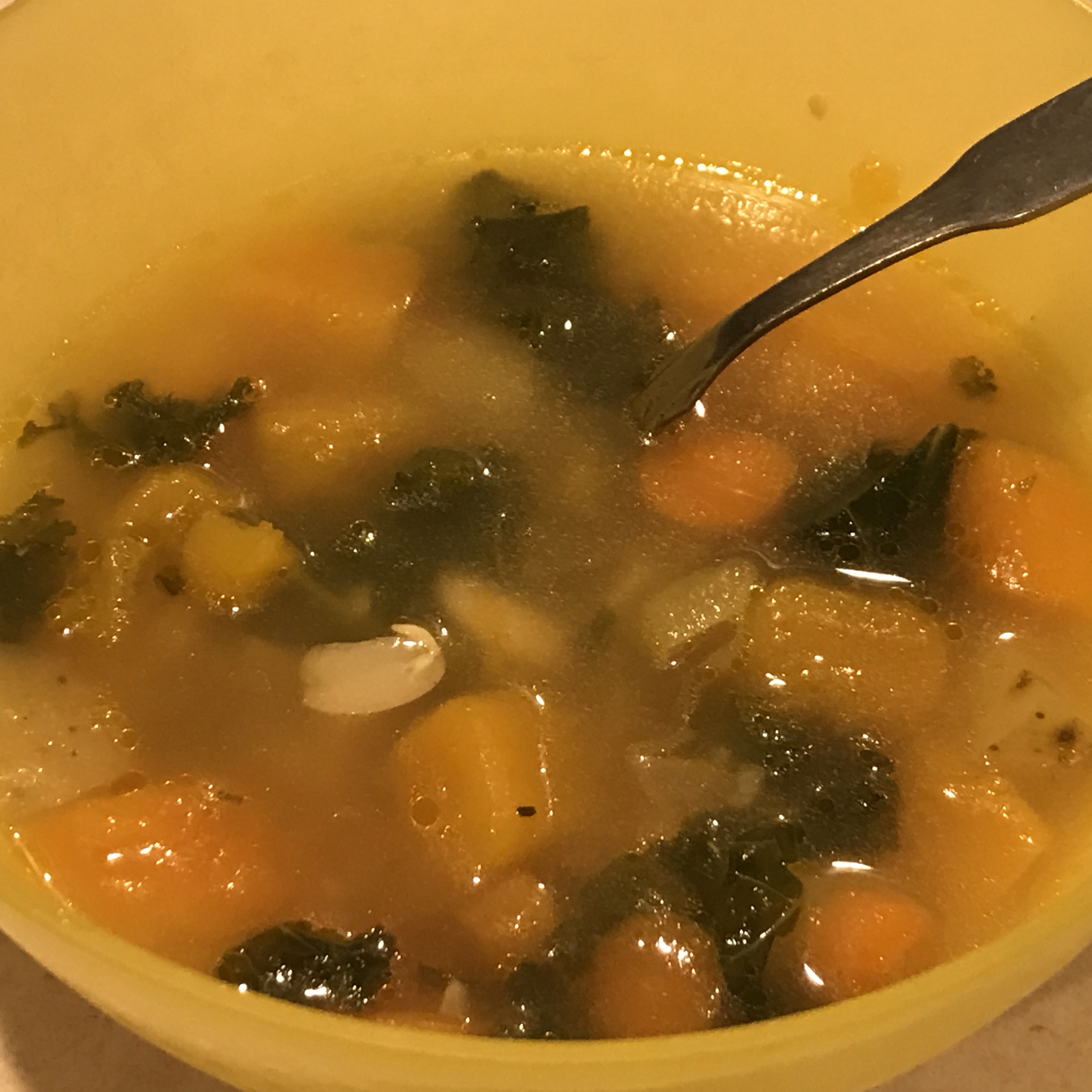 Butternut Vegetable Soup Ginnie Wise
