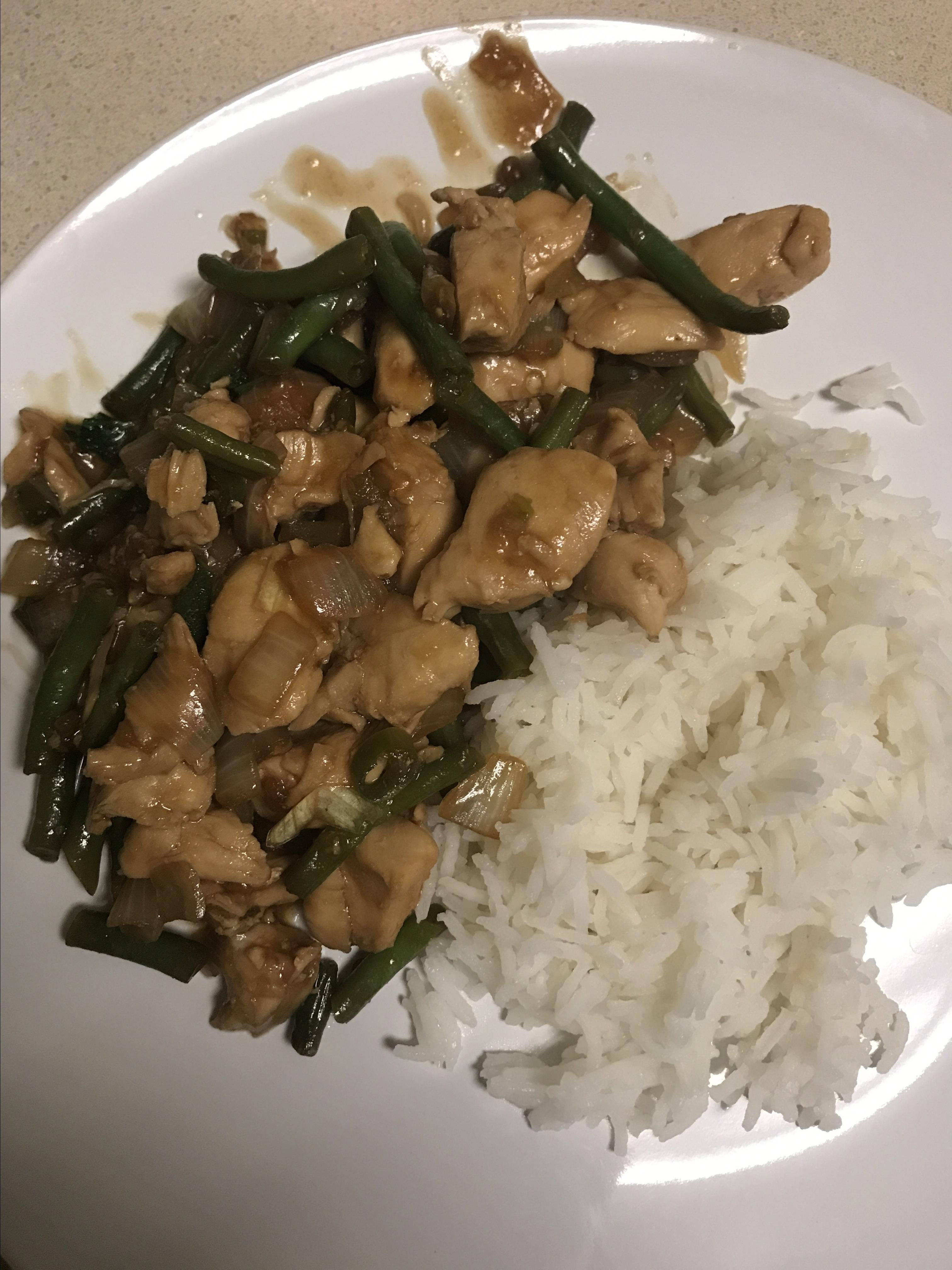 Spicy Thai Basil Chicken (Pad Krapow Gai)