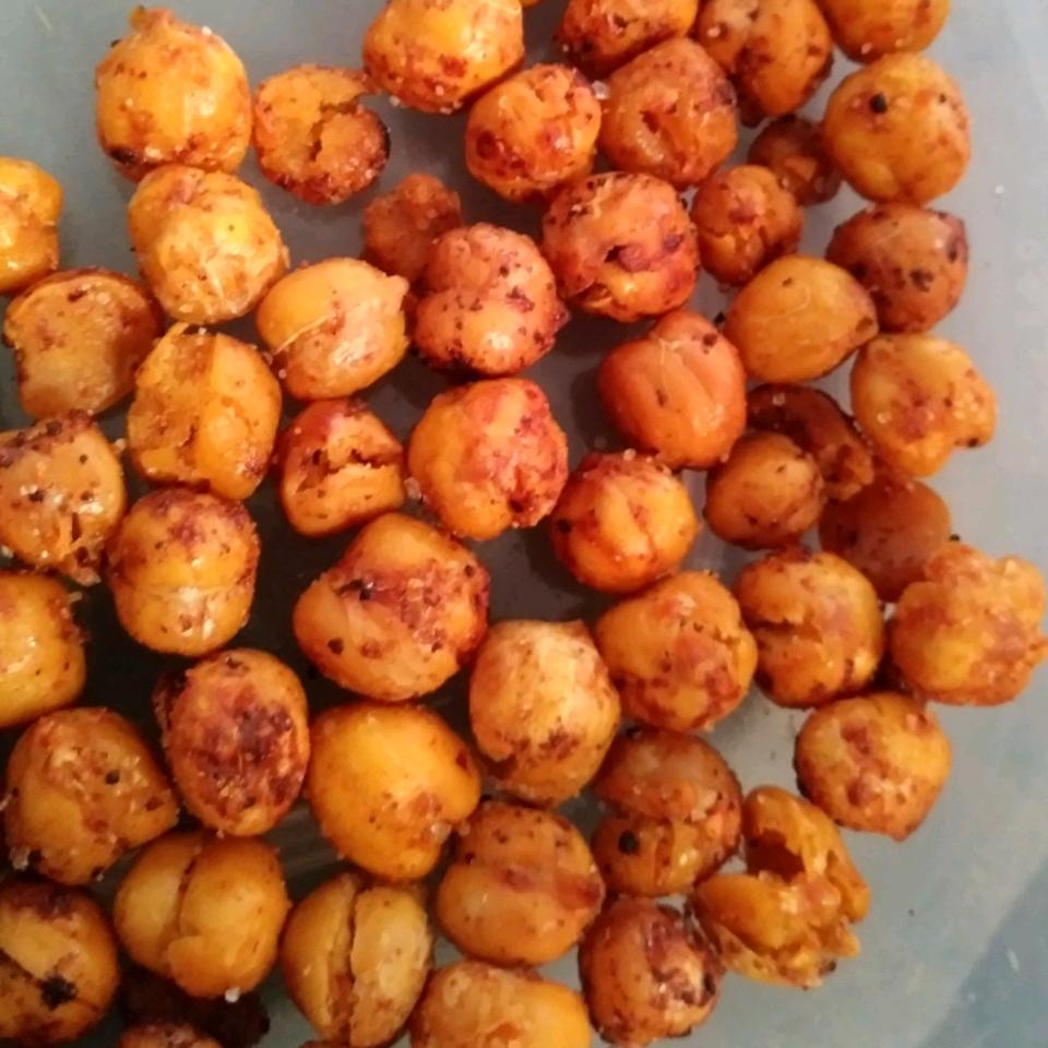 Crunchy Spiced Chickpeas Jenn