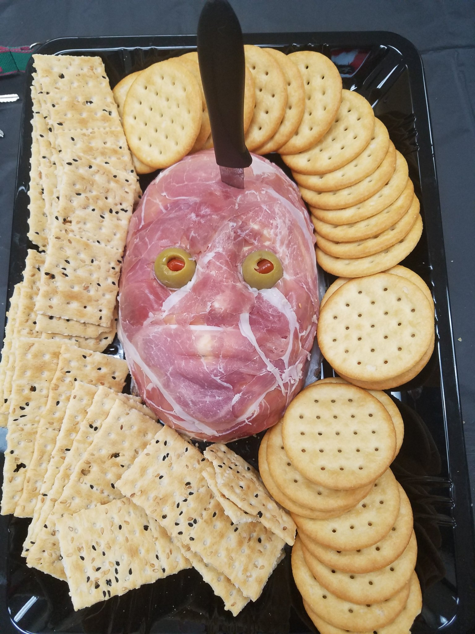 Flayed Man Cheese Ball