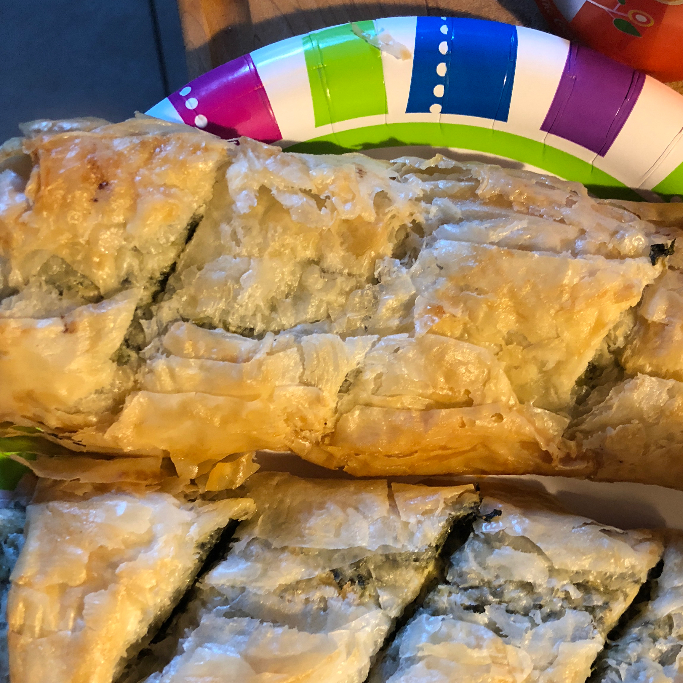 Make-Ahead Spinach Phyllo Roll-Ups from PHILADELPHIA® Vernell