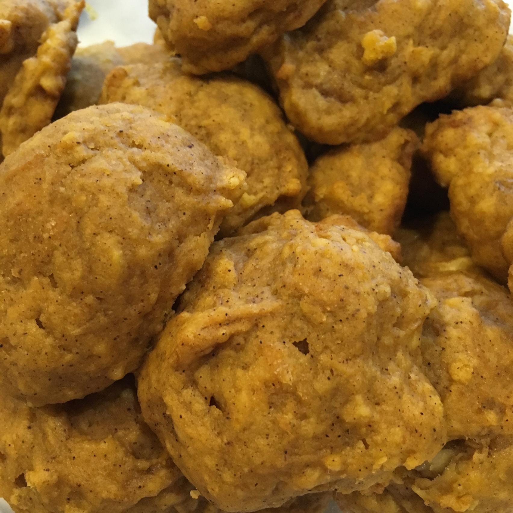 Vegan Pumpkin Cookies lufthexe