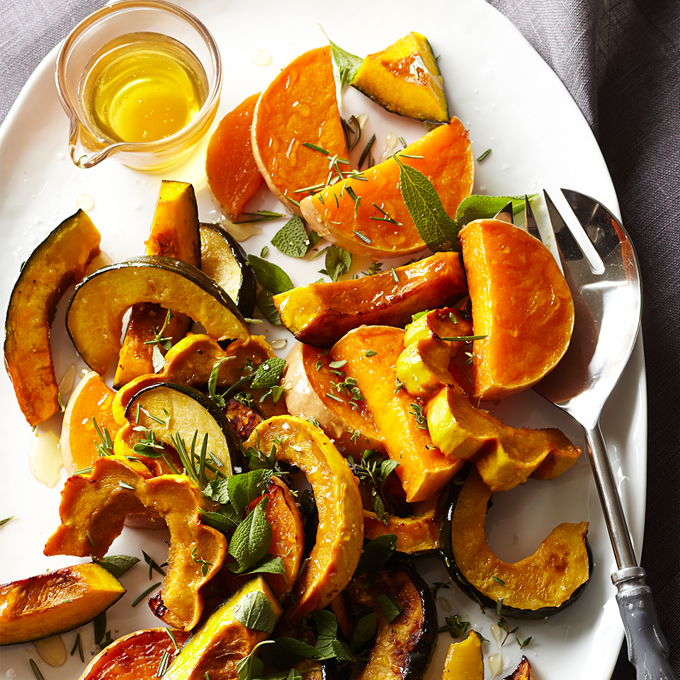 Roasted Heirloom Squash with Sea Salt & Local Honey Trusted Brands
