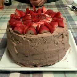 Chocolate Buttermilk Cake Top_Ramen