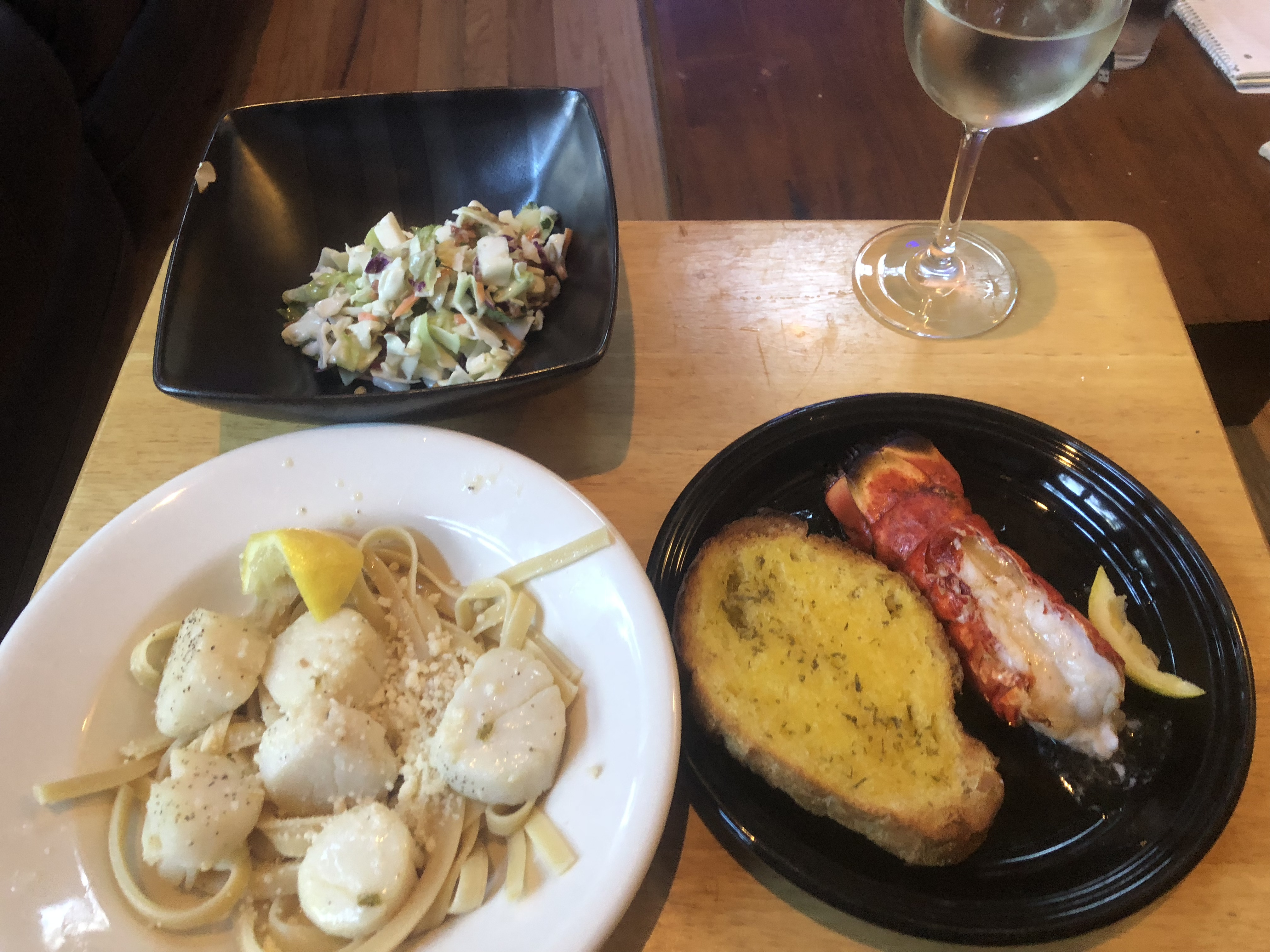 Scallops with White Wine Sauce II Michelle Lola Montez Sabate