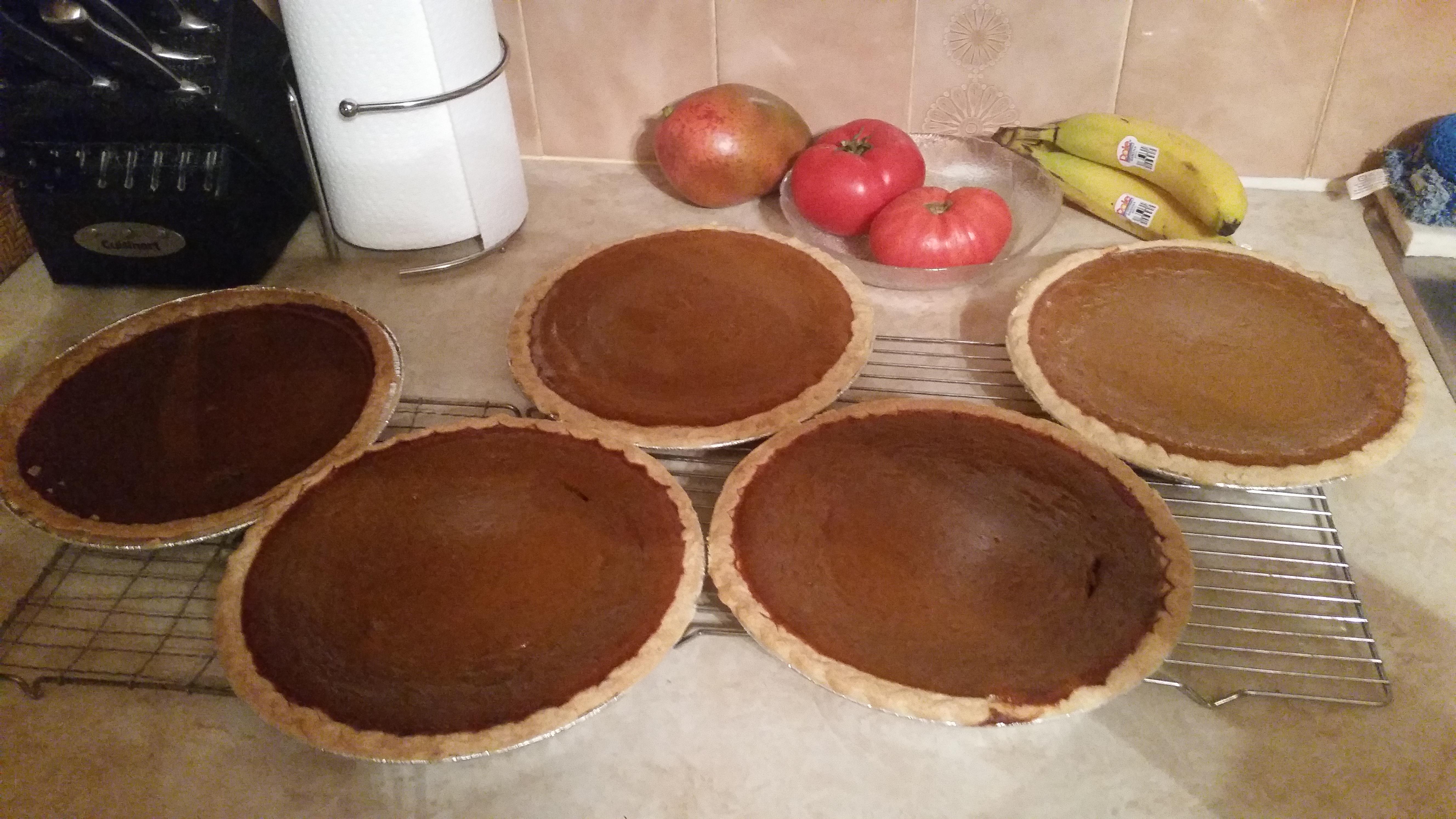 Marvelous Maple Pumpkin Pie