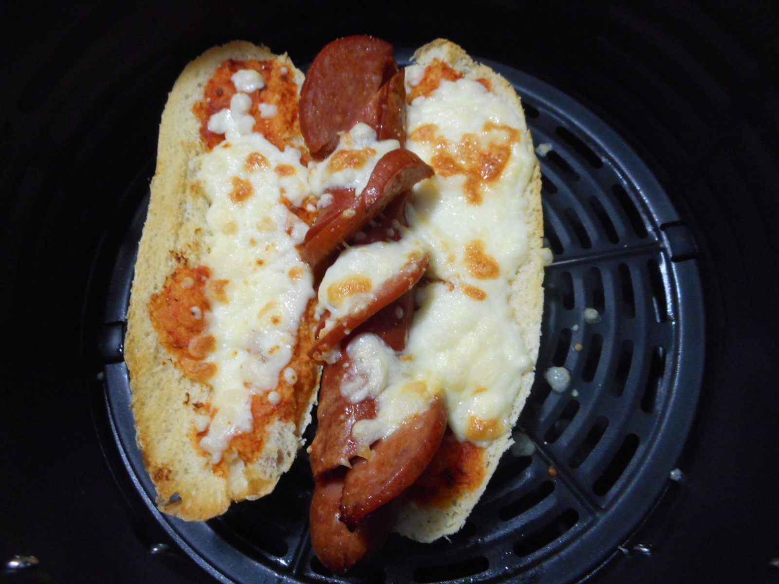 Air Fryer Pizza Dogs leslie louise