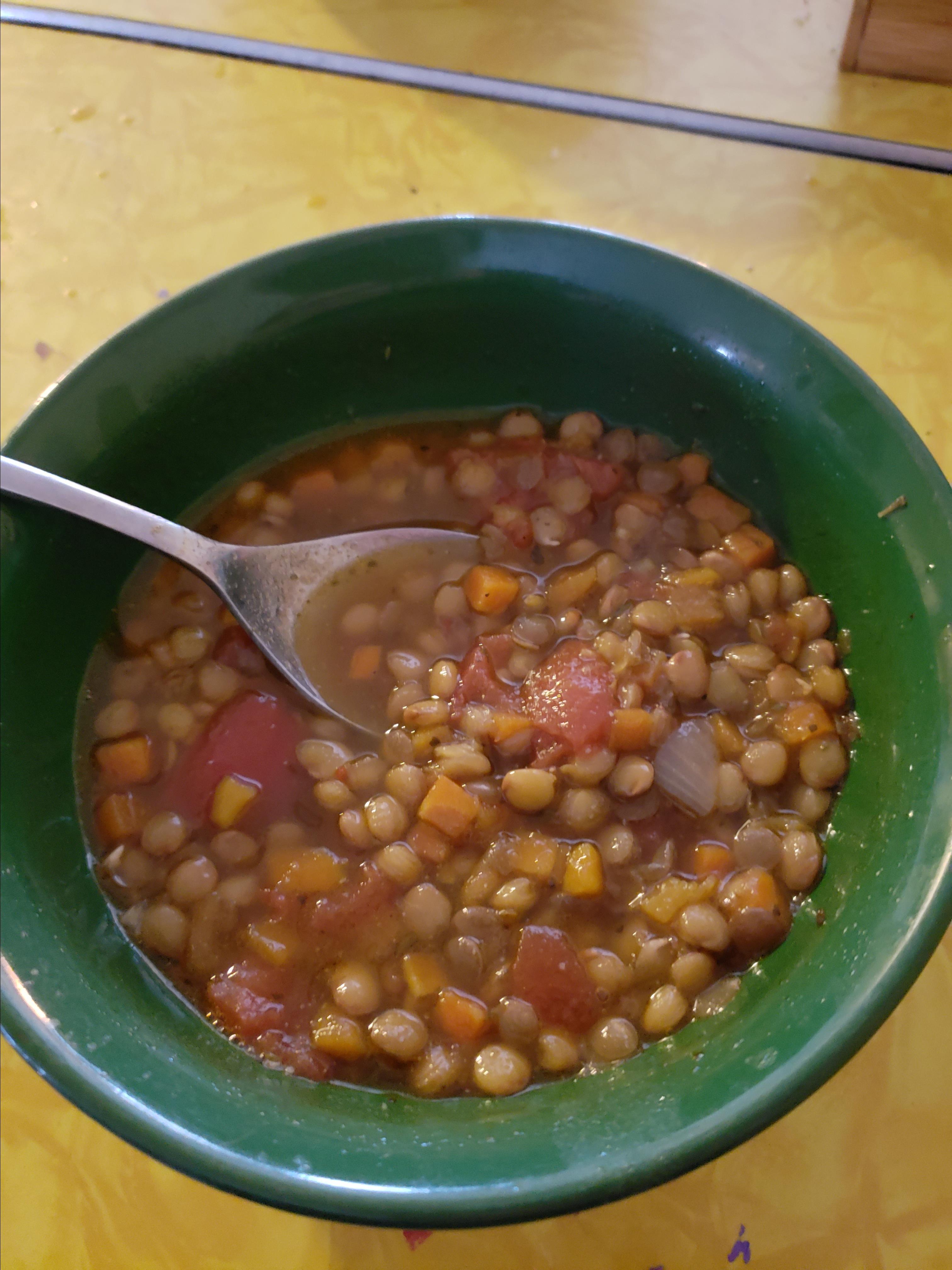 Lentil Soup Alexis Hamilton