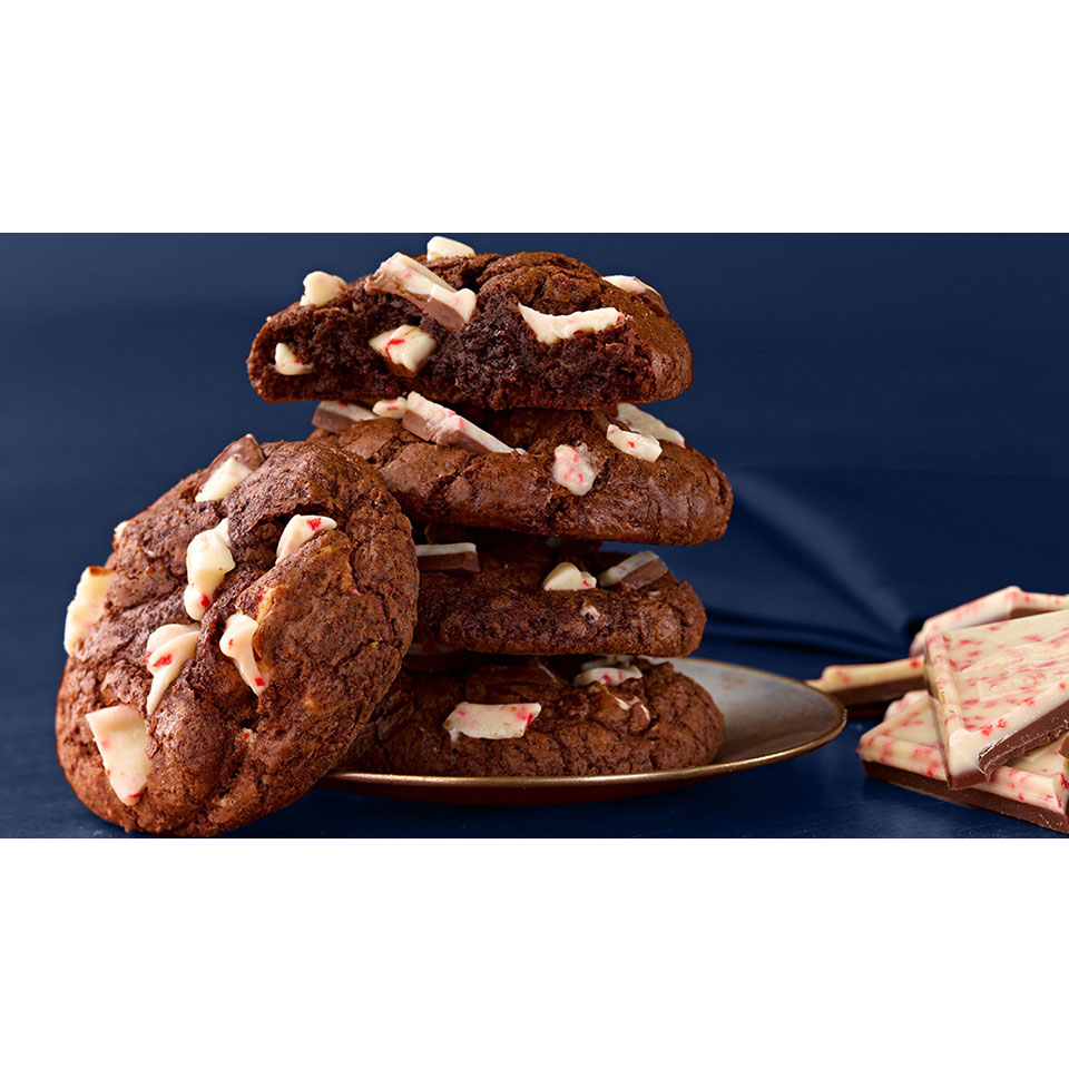 Ghirardelli Chocolate Peppermint Cookie