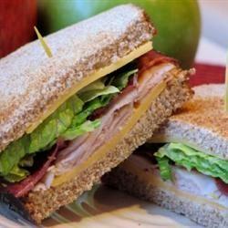 Amy's Triple Decker Turkey Bacon Sandwich mominml