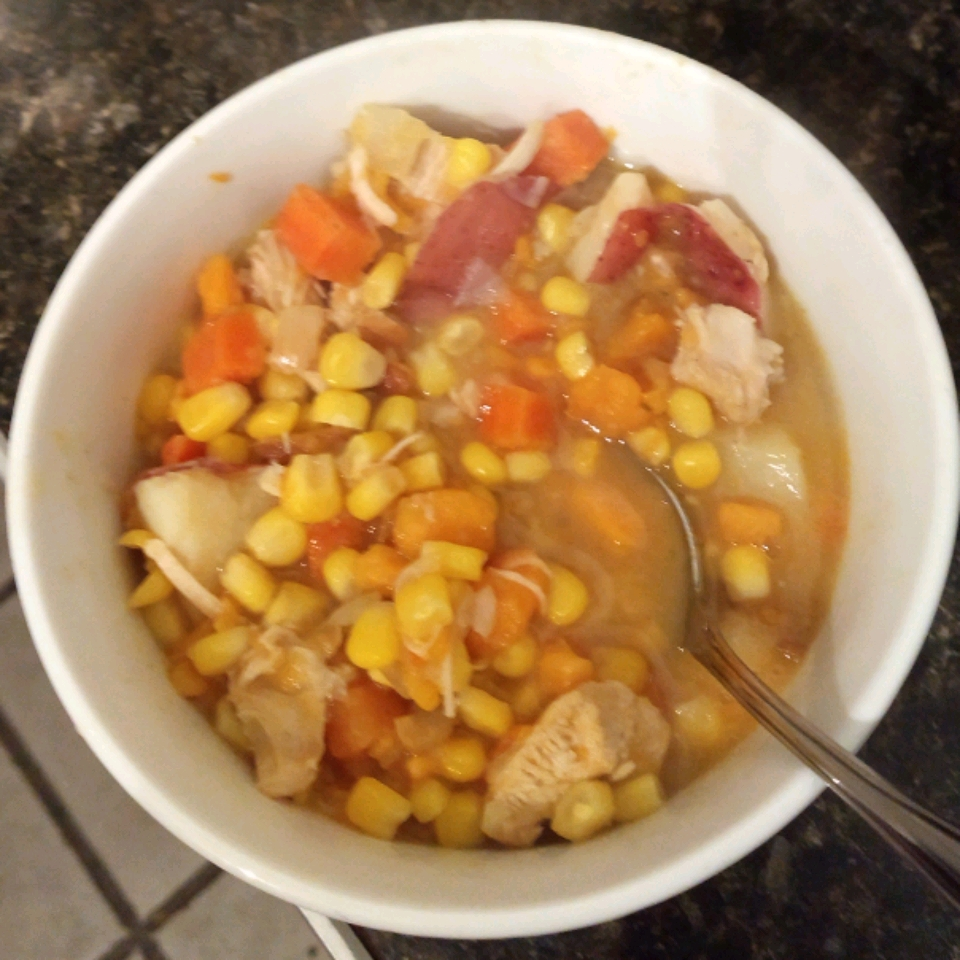 Fall Corn Rotisserie Chicken Soup Mdc80