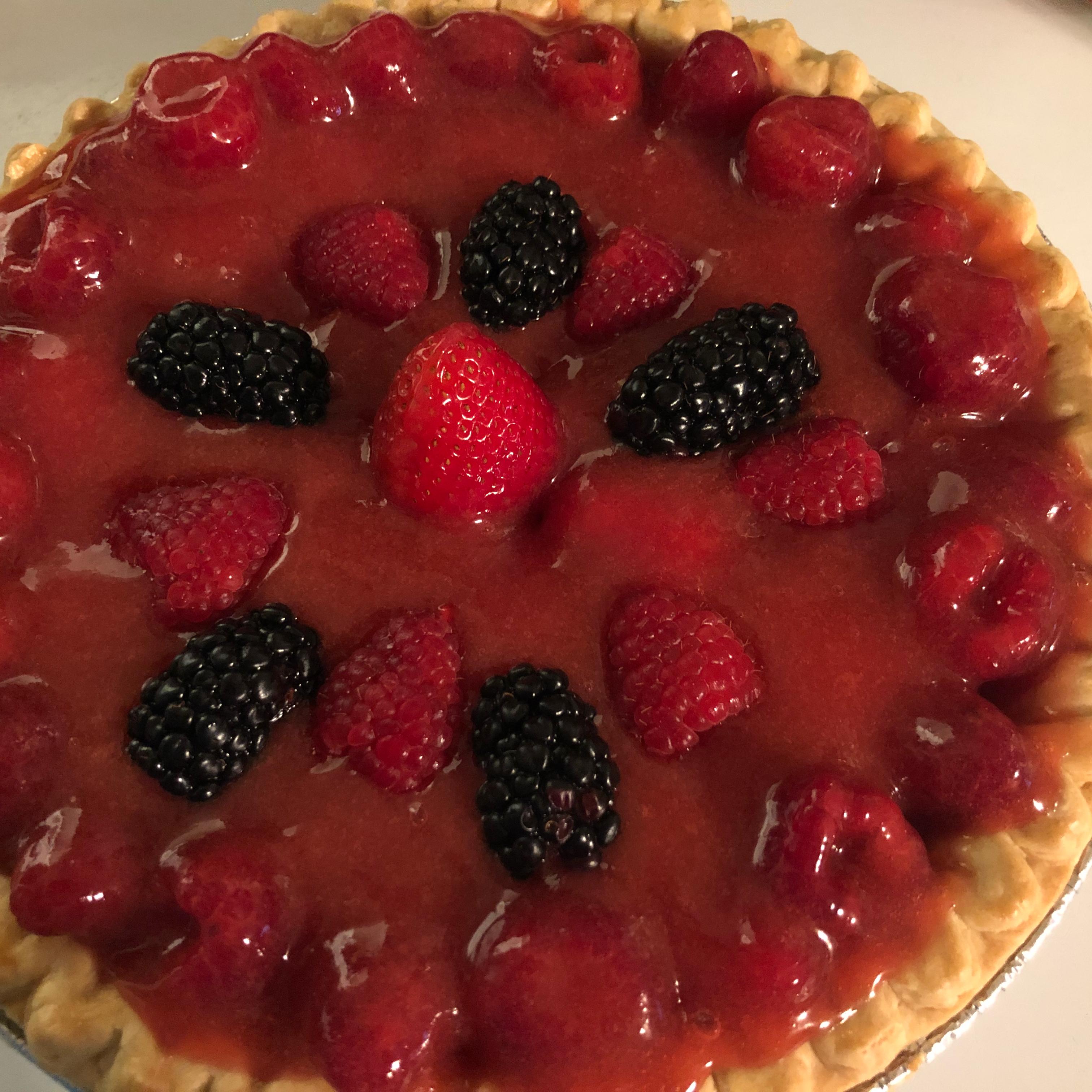 Summer Fresh Raspberry Pie SDMF