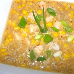 Chinese Creamy Corn Soup PAMELA D. aPROpos of nothing