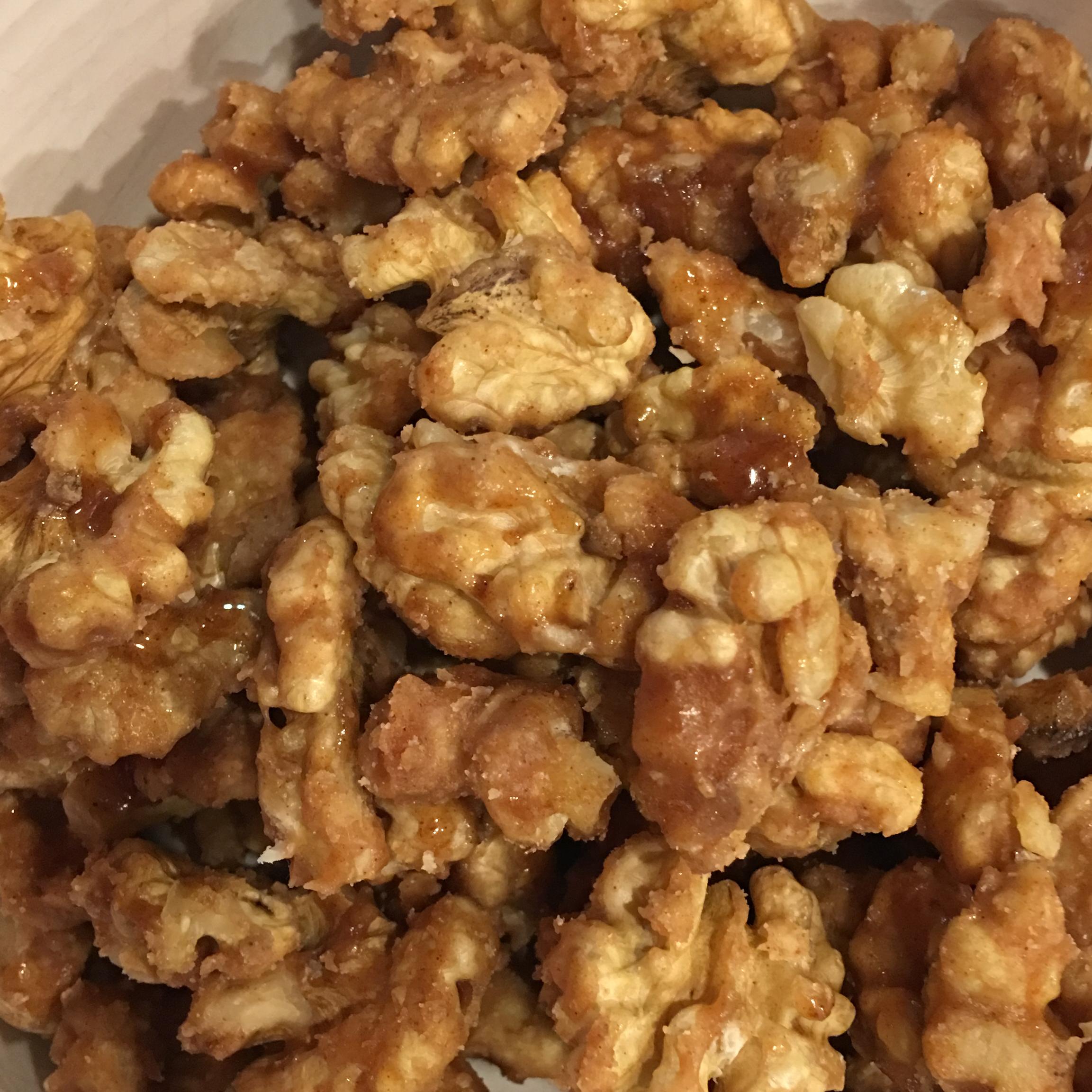 Dawn's Candied Walnuts Nicole Carlson