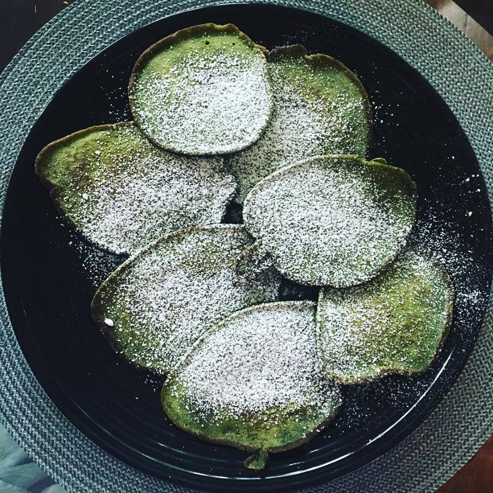 Matcha Green Tea Pancake
