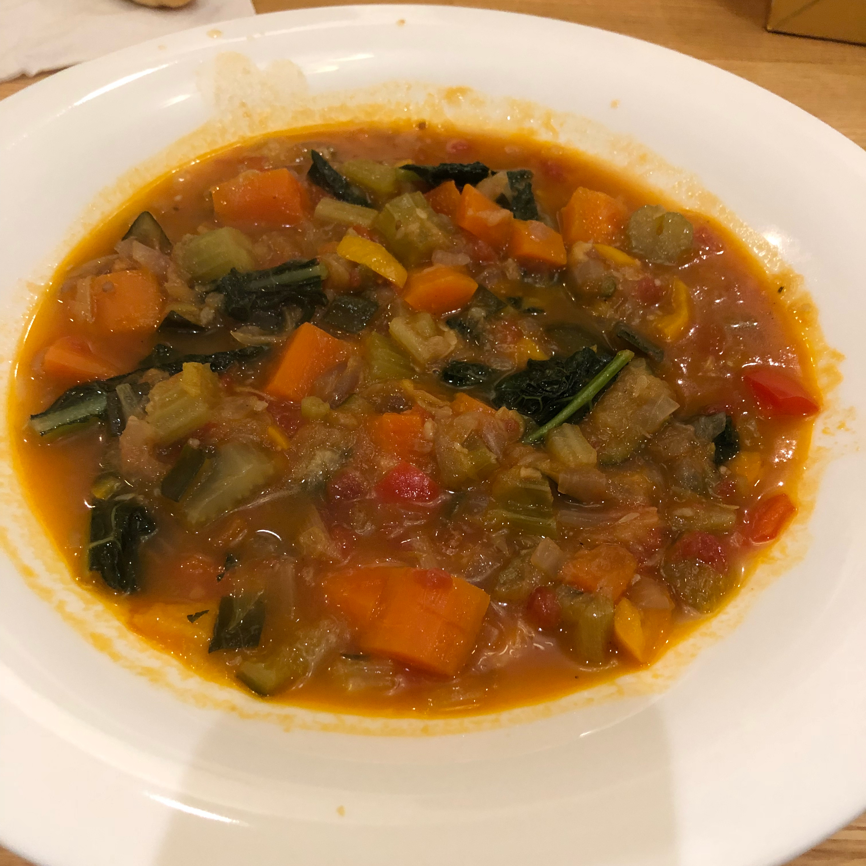 Judy's Hearty Vegetable Minestrone Soup chilimama