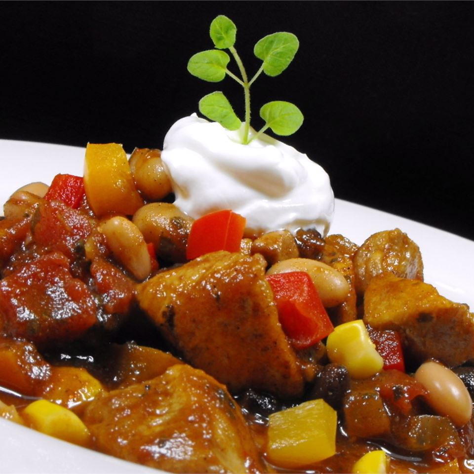 Chicken and Two Bean Chili bellepepper