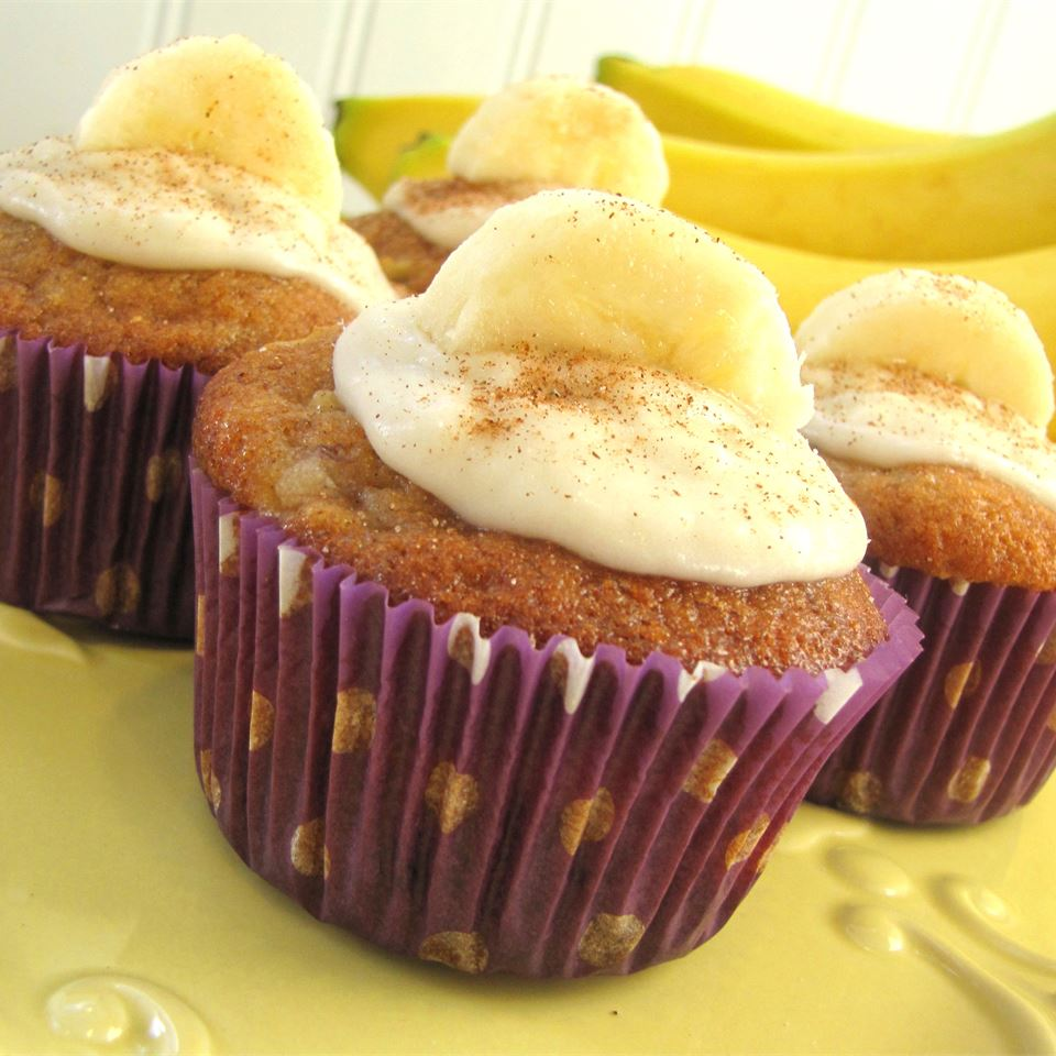 Apple Banana Cupcakes