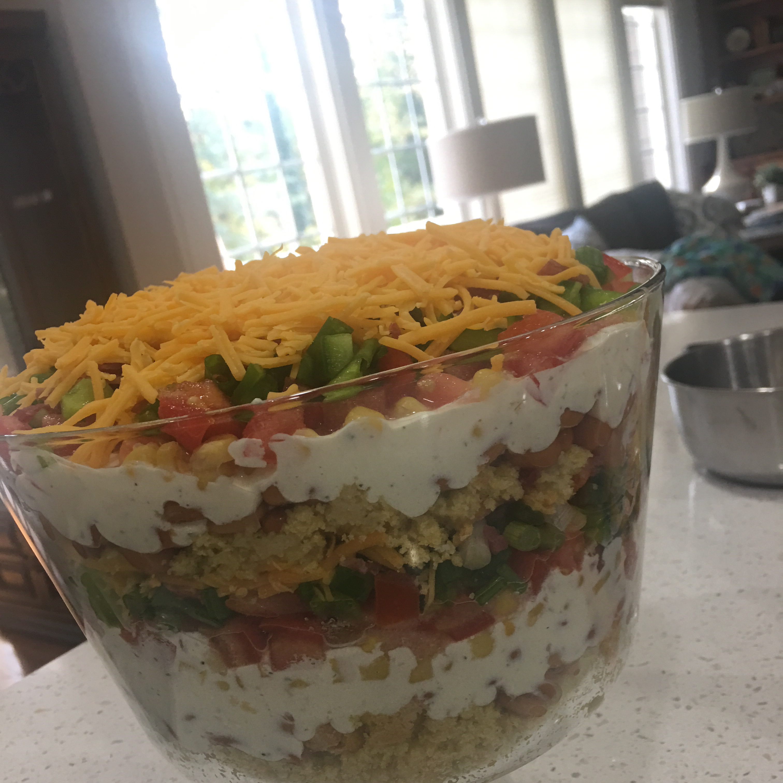 Cornbread Salad Allison Long Grier