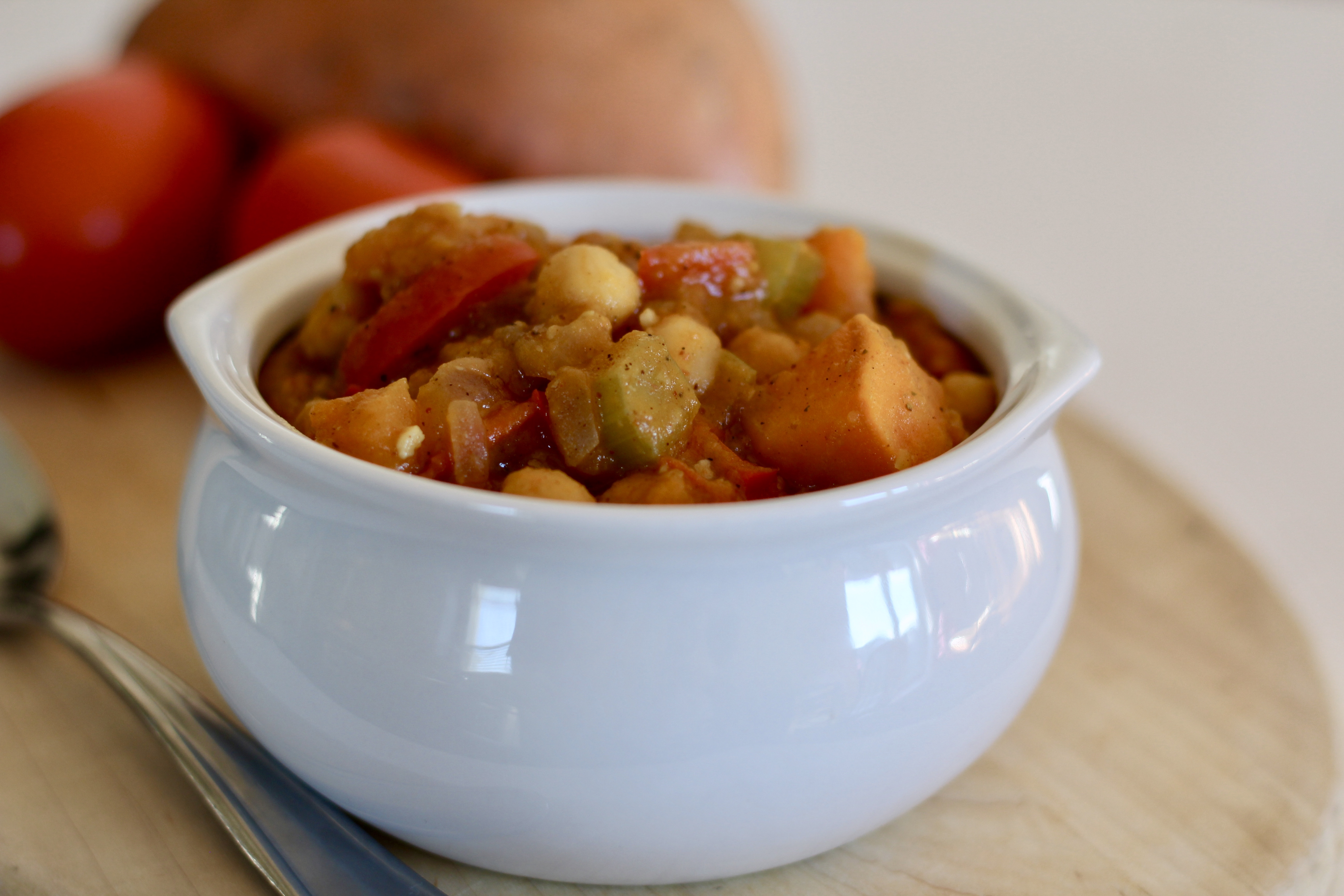 Moroccan Sweet Potato Stew Carrie Sublett