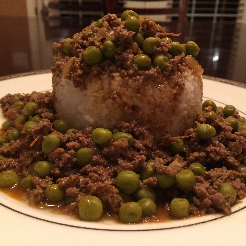 Pakistani Ground Beef Curry