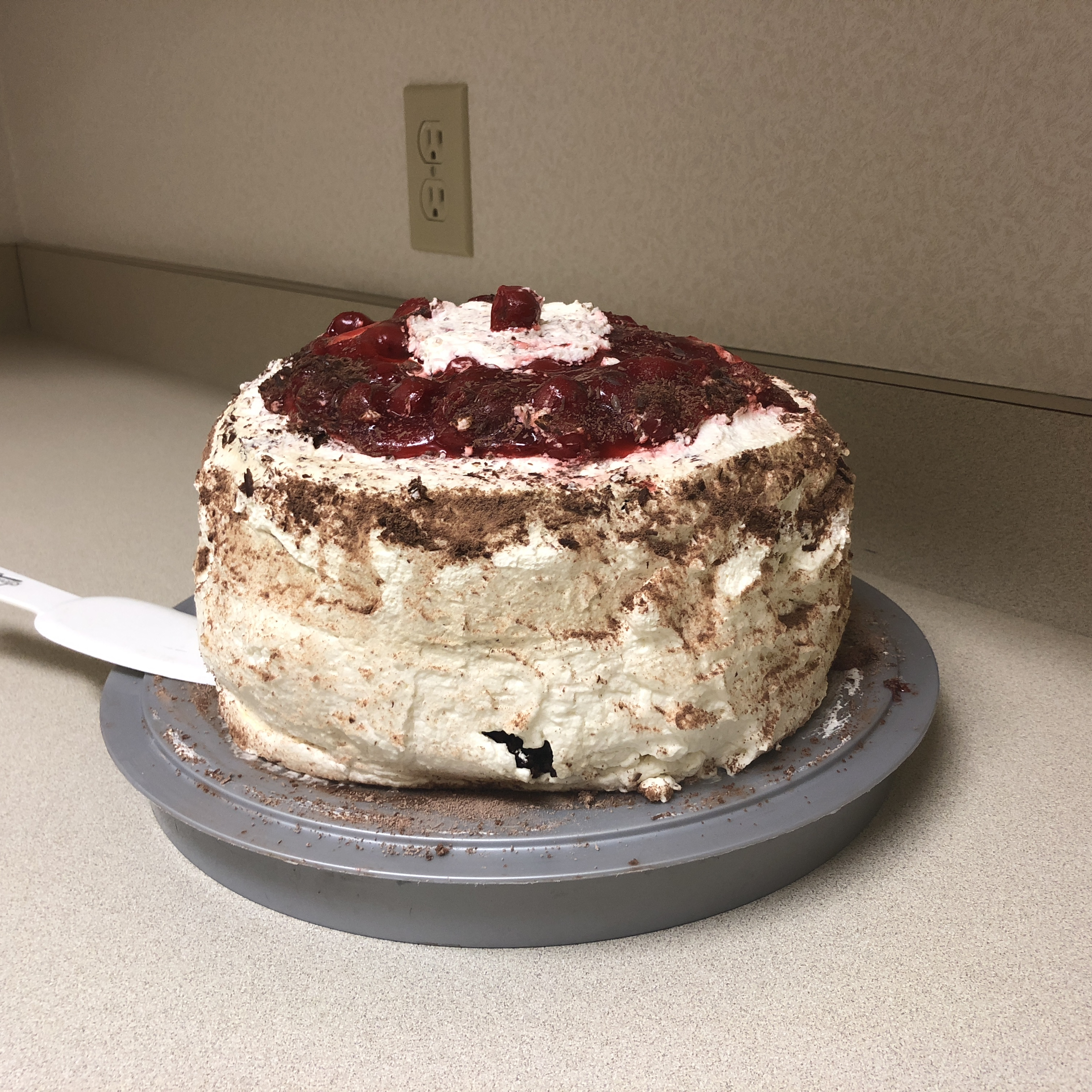 Easy Dressed-Up Black Forest Cake Tracy Sherman