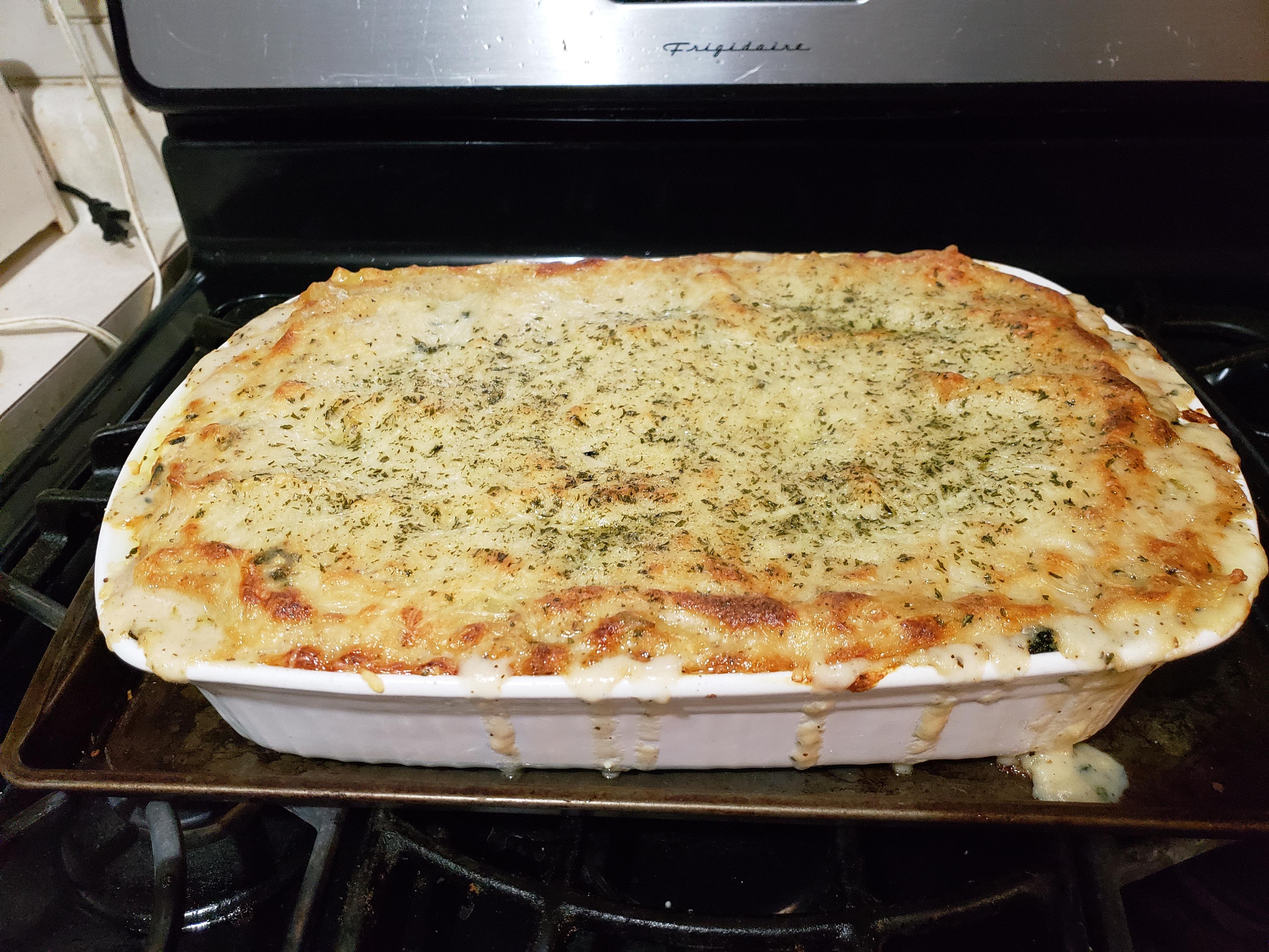 White Cheese Chicken Lasagna Nellie Eppig Deblois