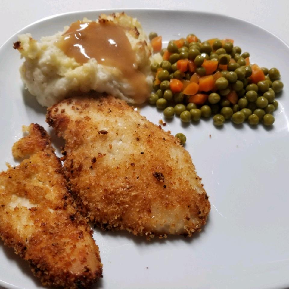 Quick Crispy Parmesan Chicken Breasts SUNKIST2