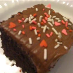 Chocolate Mayo Cake thedailygourmet