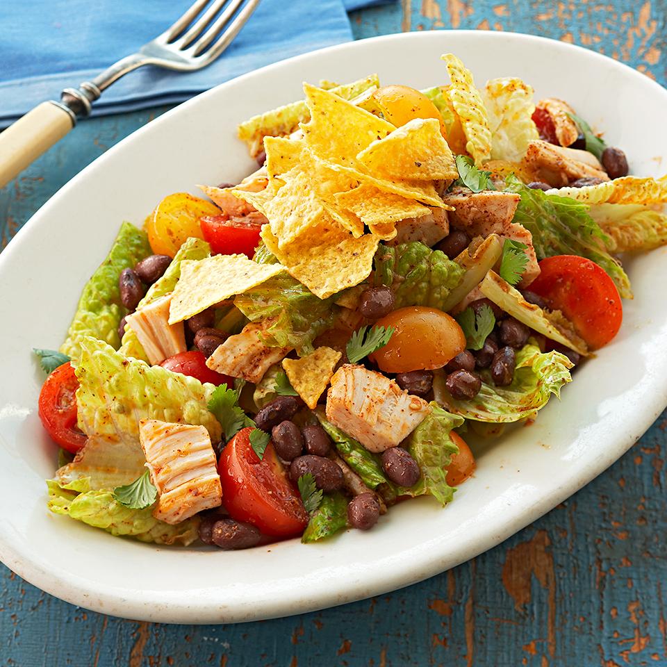 Southwestern Chicken & Black Bean Salad Diabetic Living Magazine