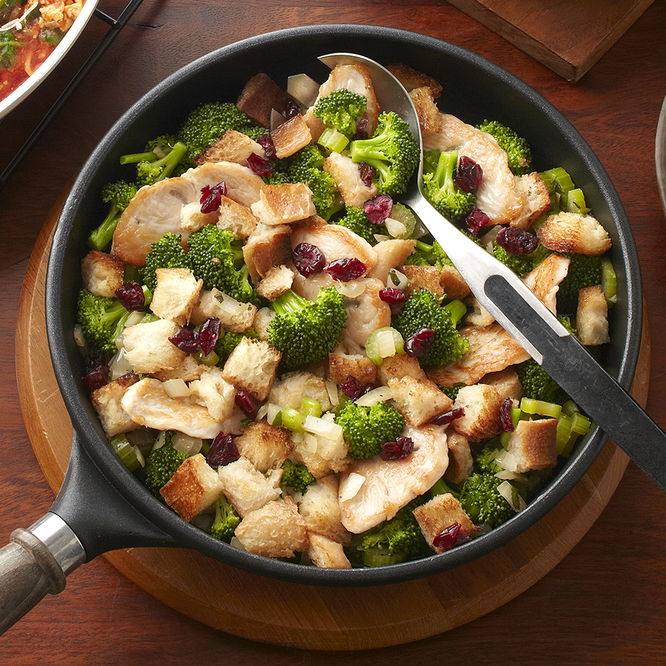 Turkey Dinner in a Skillet Diabetic Living Magazine