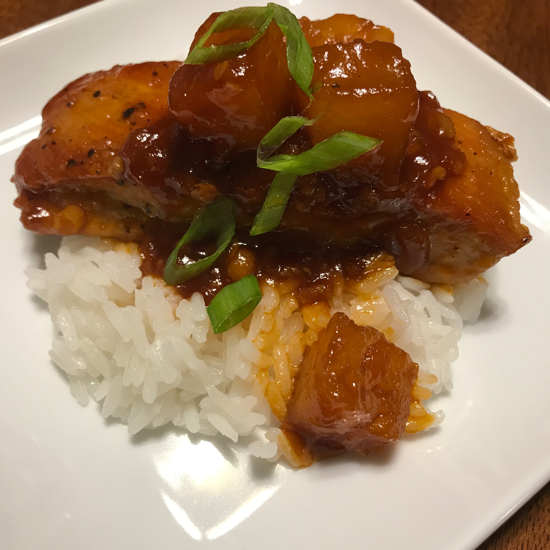 Sweet and Sour Pork Tenderloin