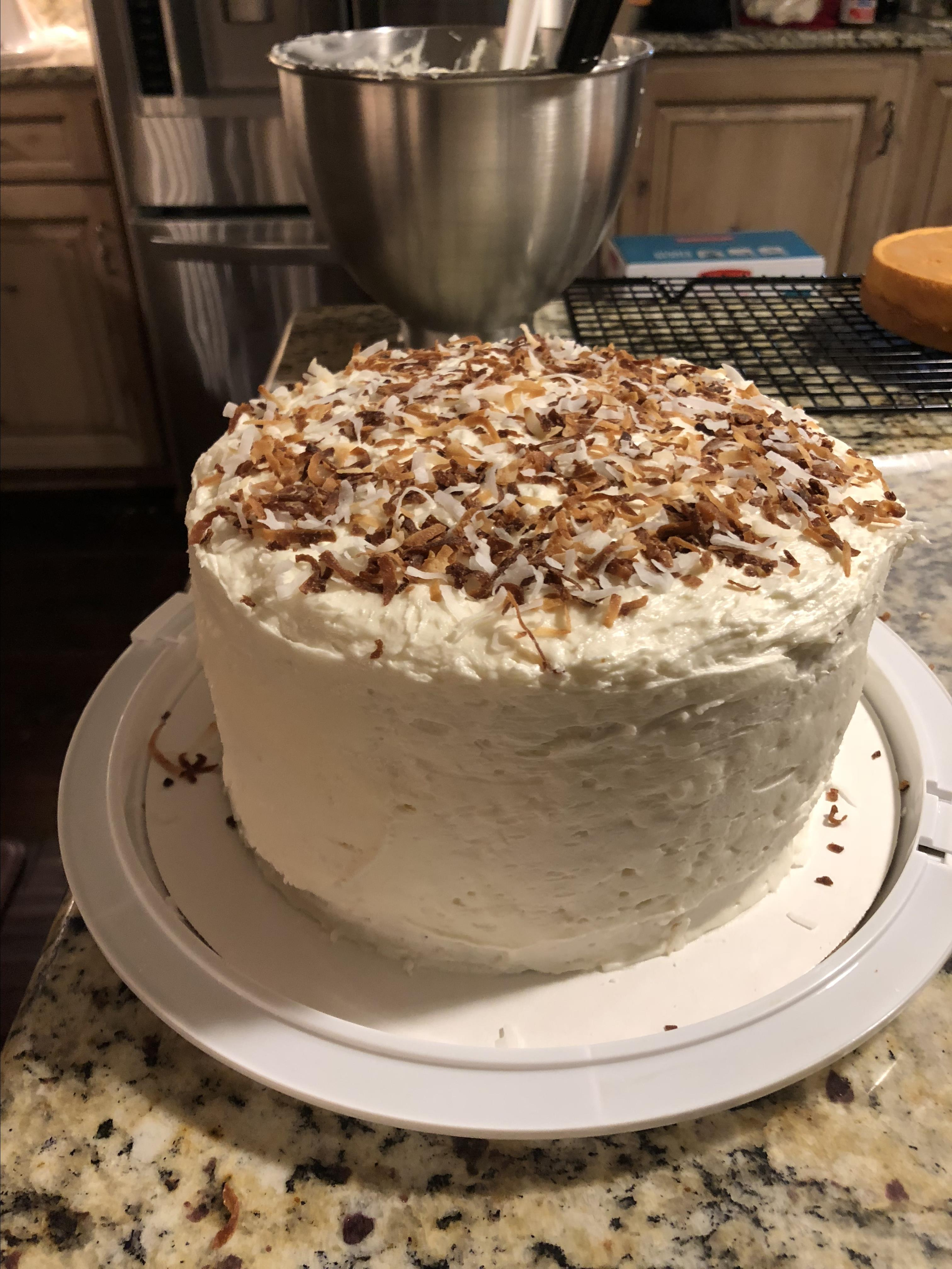 Perfumed Coconut Cake