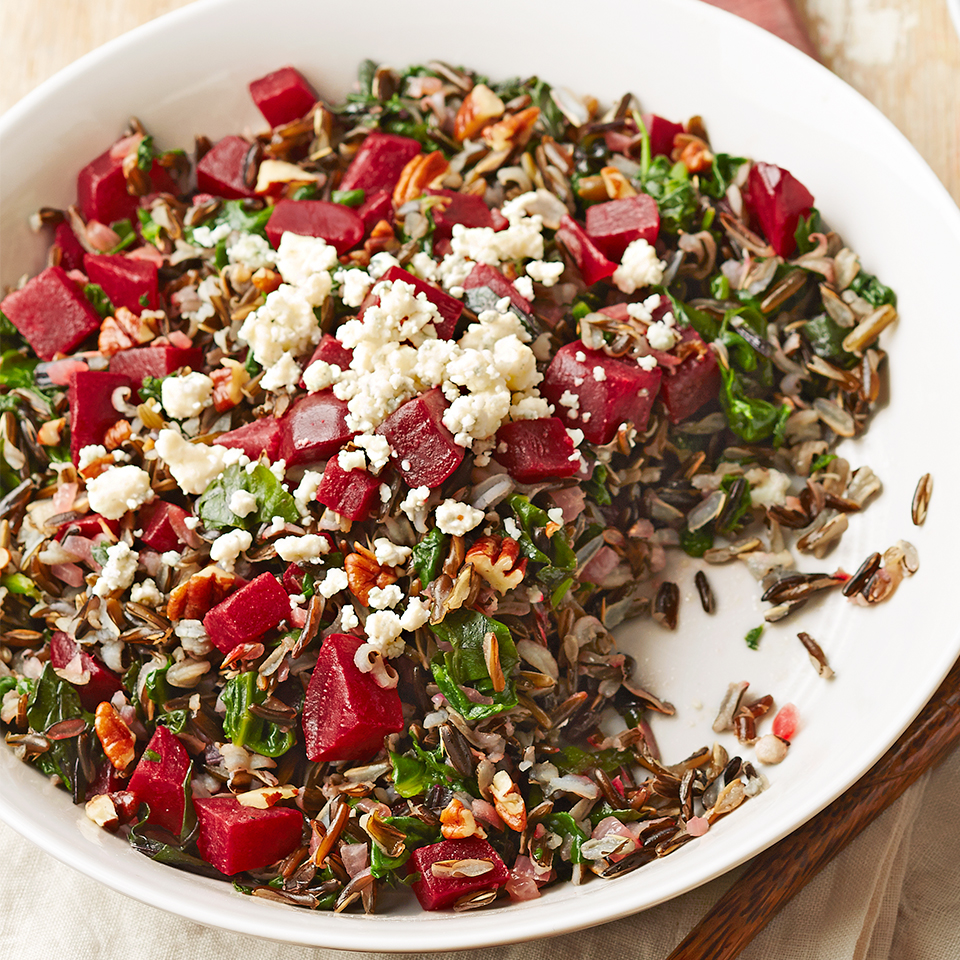 Wild Rice & Roasted Beet Salad Diabetic Living Magazine