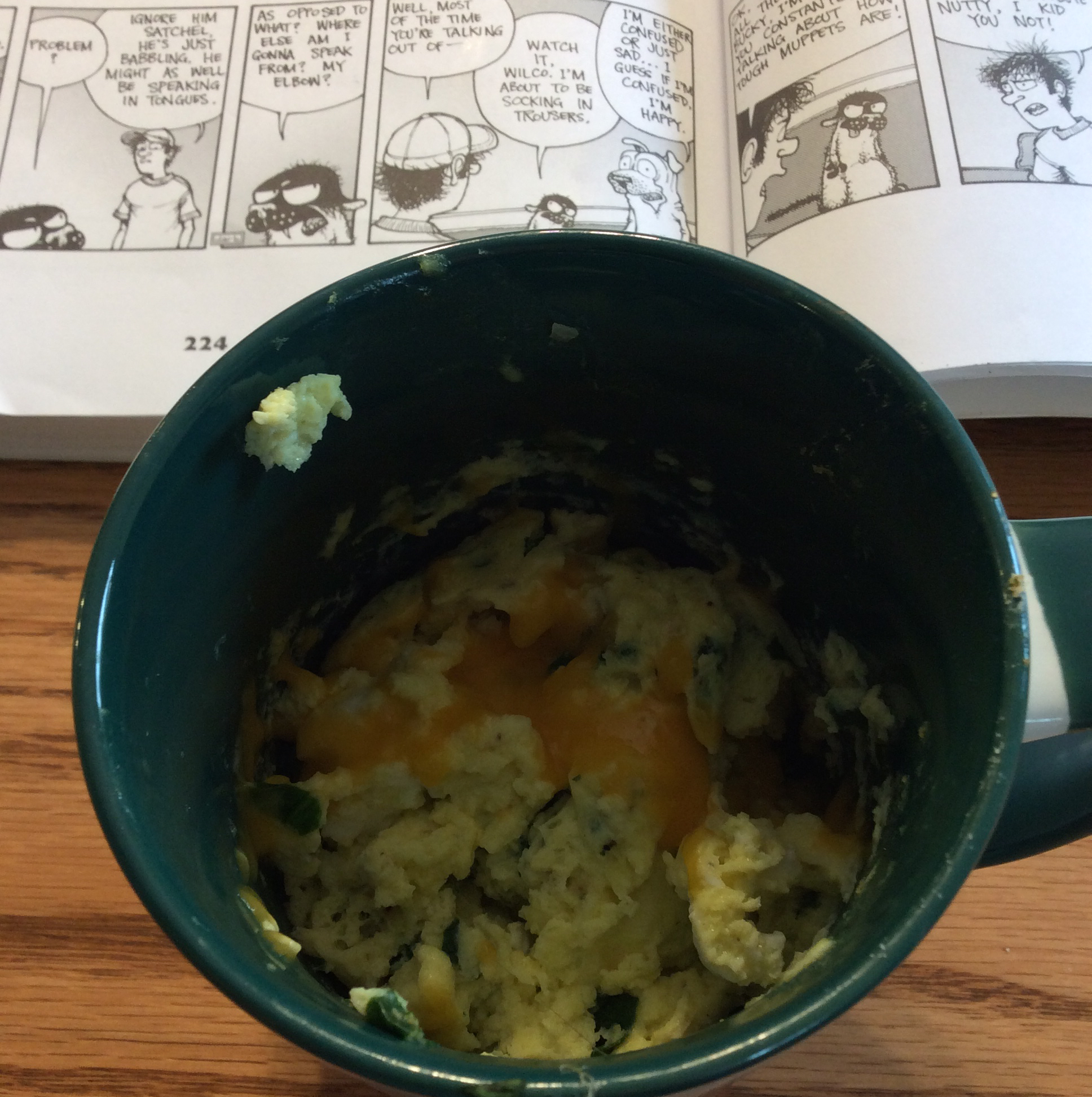 Scrambled Eggs in a Mug