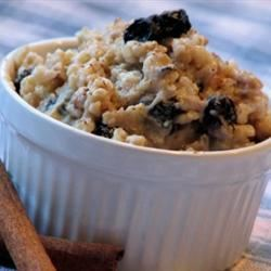 Brown Rice Breakfast Porridge