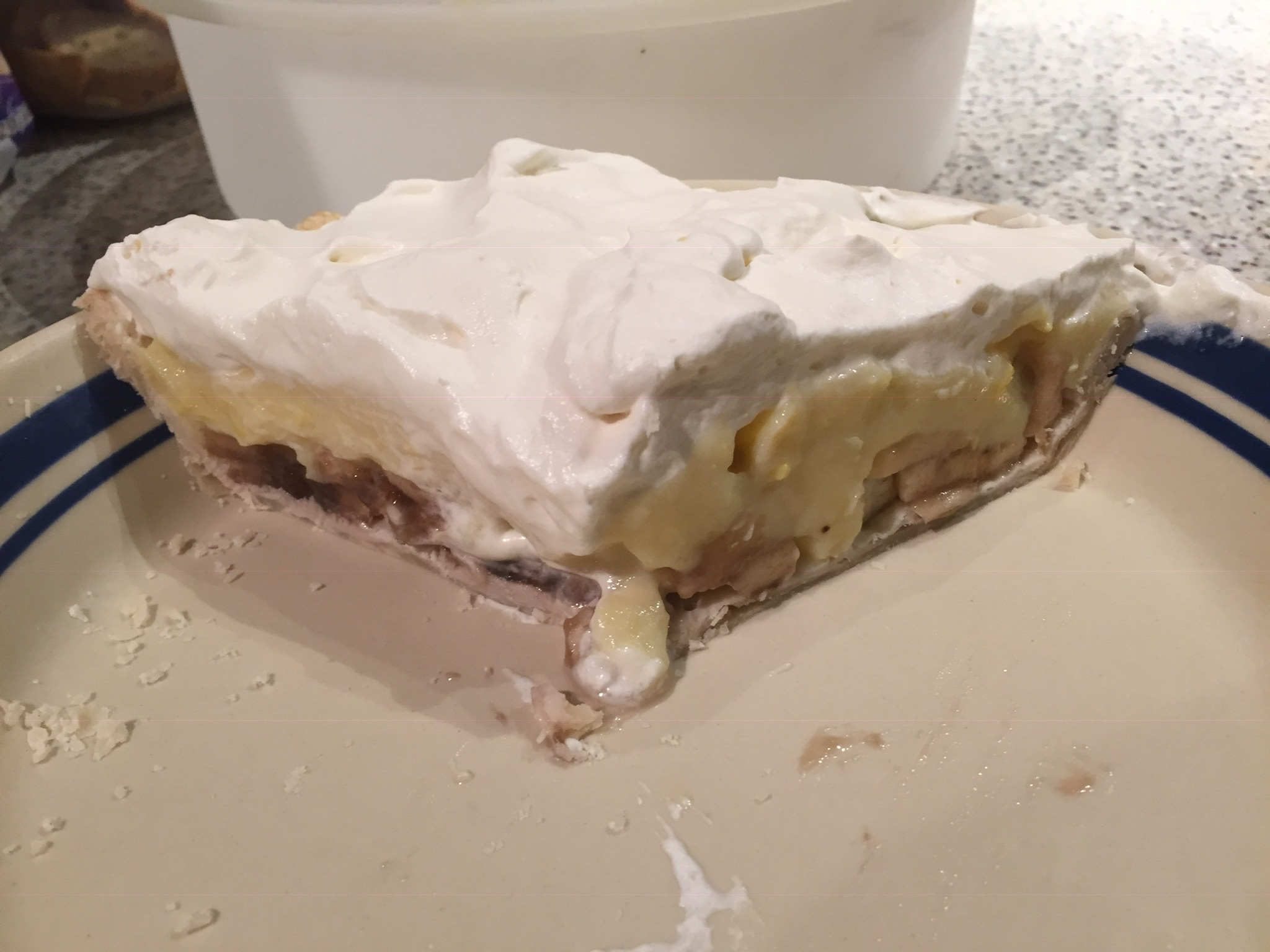 Banana Cream Pie I