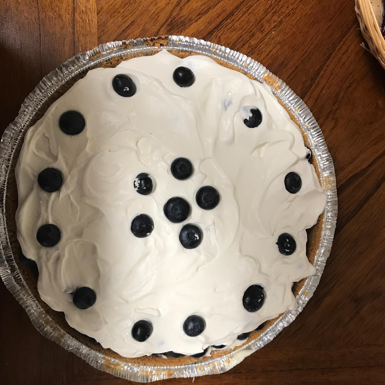 Blueberry Banana Pie
