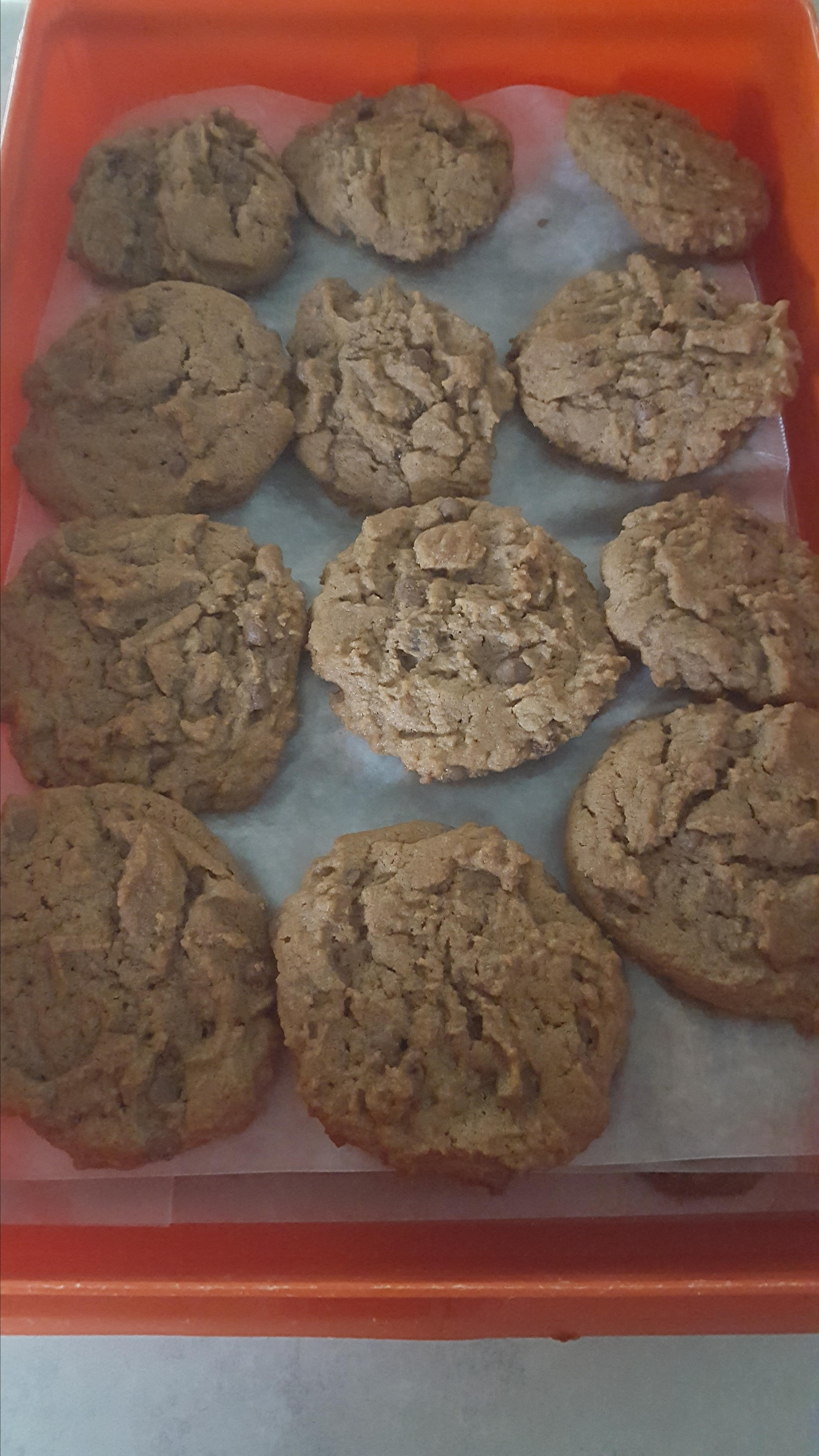 Yummy Chocolate Peanut Butter Cookies