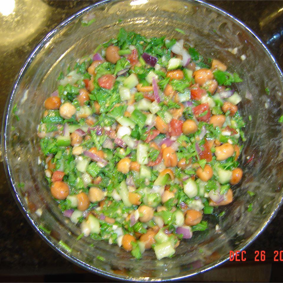 Fava Bean Salad Ali Mutti Le